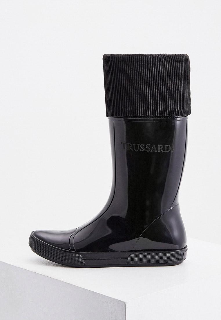 Женские резиновые сапоги Trussardi Jeans (Труссарди Джинс) 79A00620-9Y099996