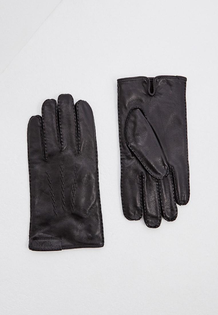 Мужские перчатки TRUSSARDI JEANS (Труссарди Джинс) 57z00125