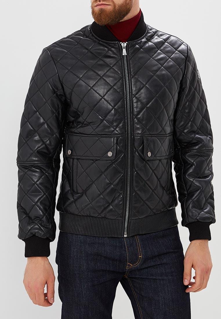 Кожаная куртка TRUSSARDI JEANS (Труссарди Джинс) 52s00195