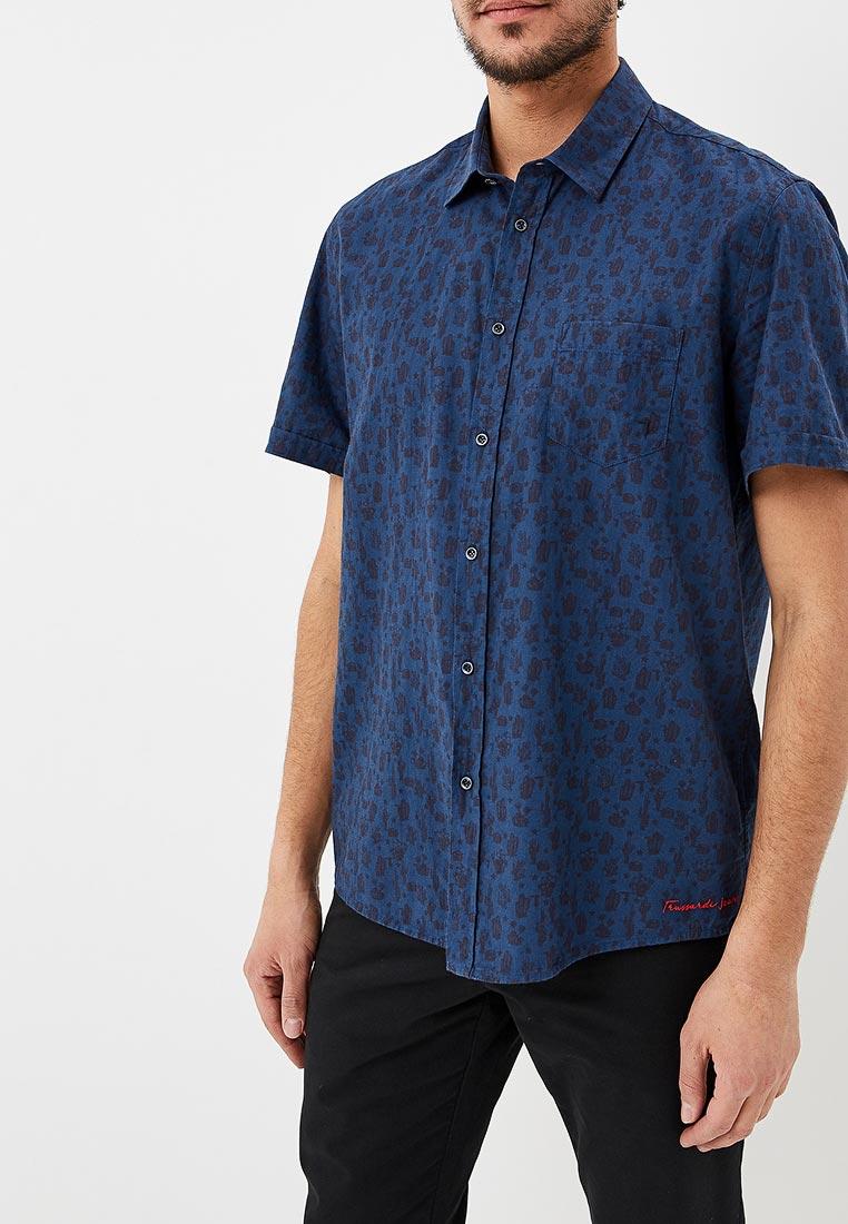 Рубашка с коротким рукавом TRUSSARDI JEANS (Труссарди Джинс) 52C00082