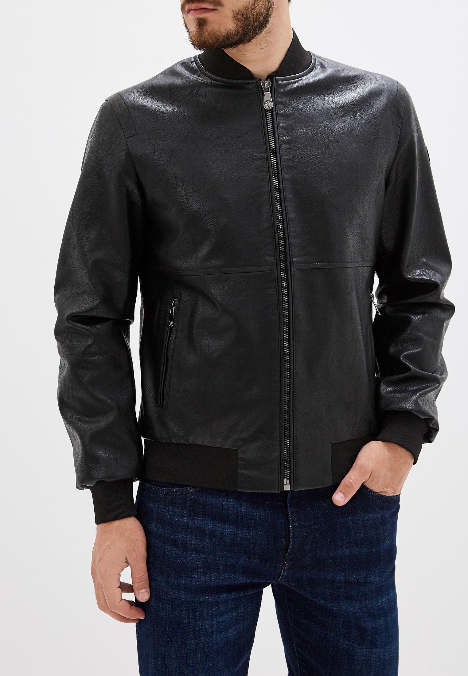 Кожаная куртка TRUSSARDI JEANS (Труссарди Джинс) 52s00353