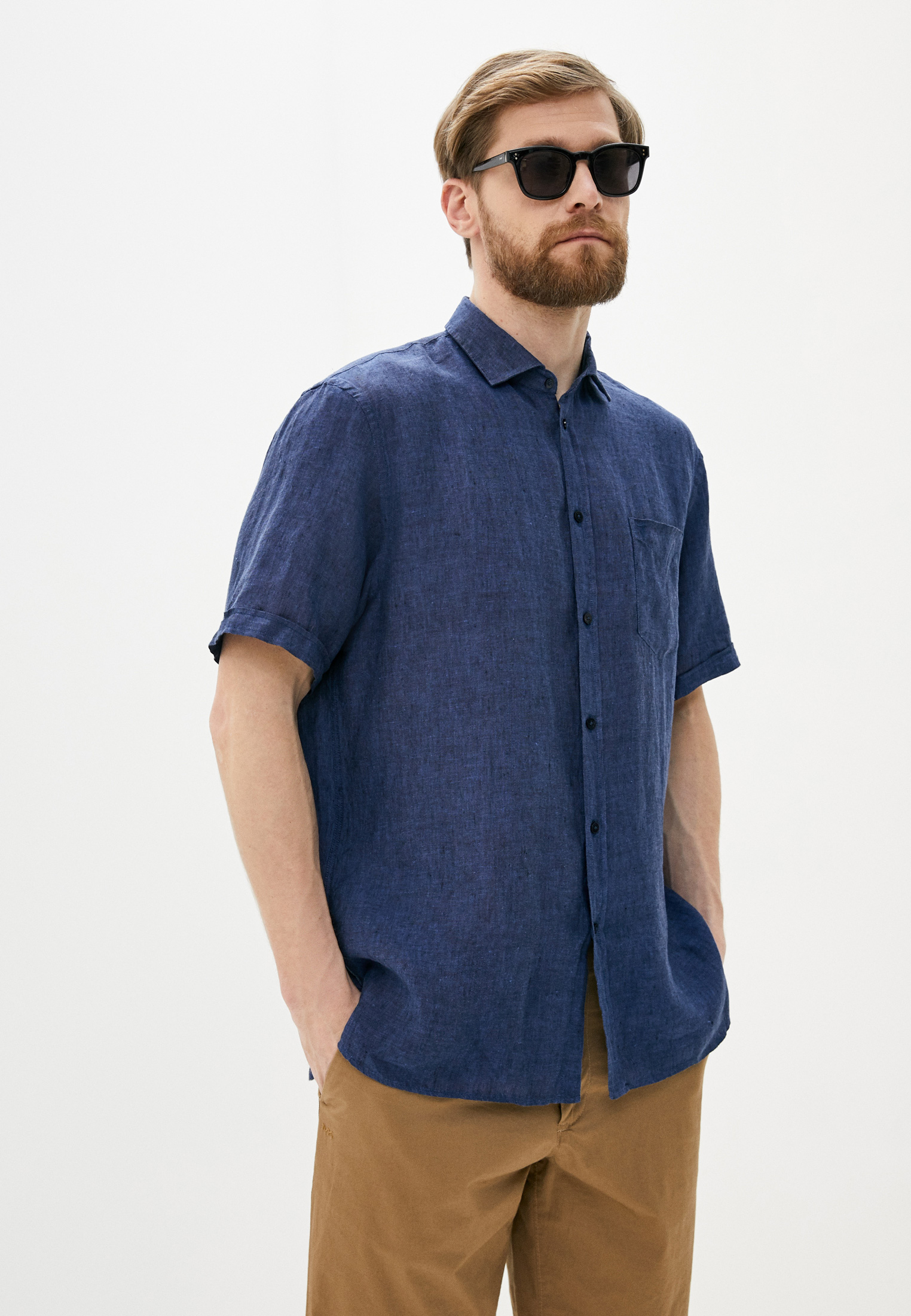 Рубашка с длинным рукавом Trussardi Jeans (Труссарди Джинс) 52c00140