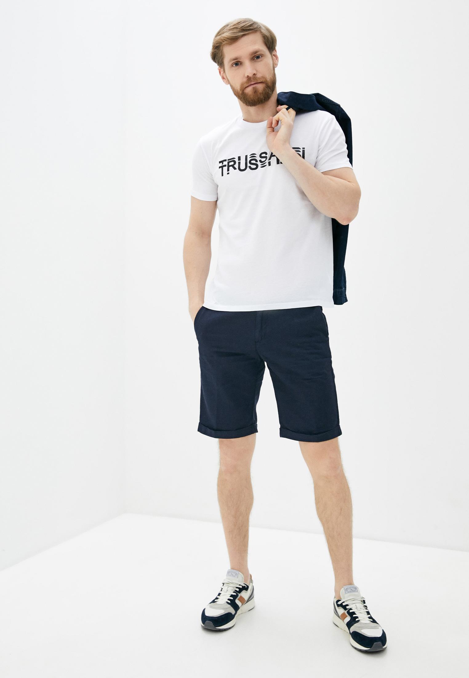 Мужская футболка TRUSSARDI JEANS (Труссарди Джинс) 52t00322: изображение 2