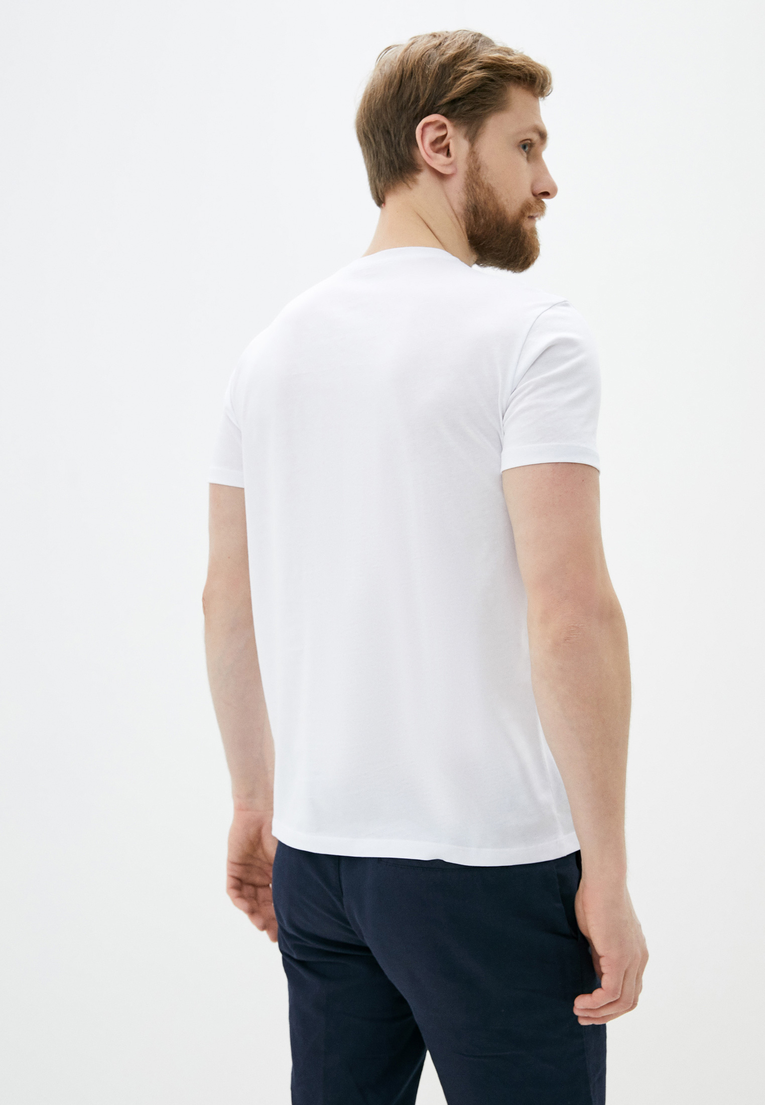 Мужская футболка TRUSSARDI JEANS (Труссарди Джинс) 52t00322: изображение 3