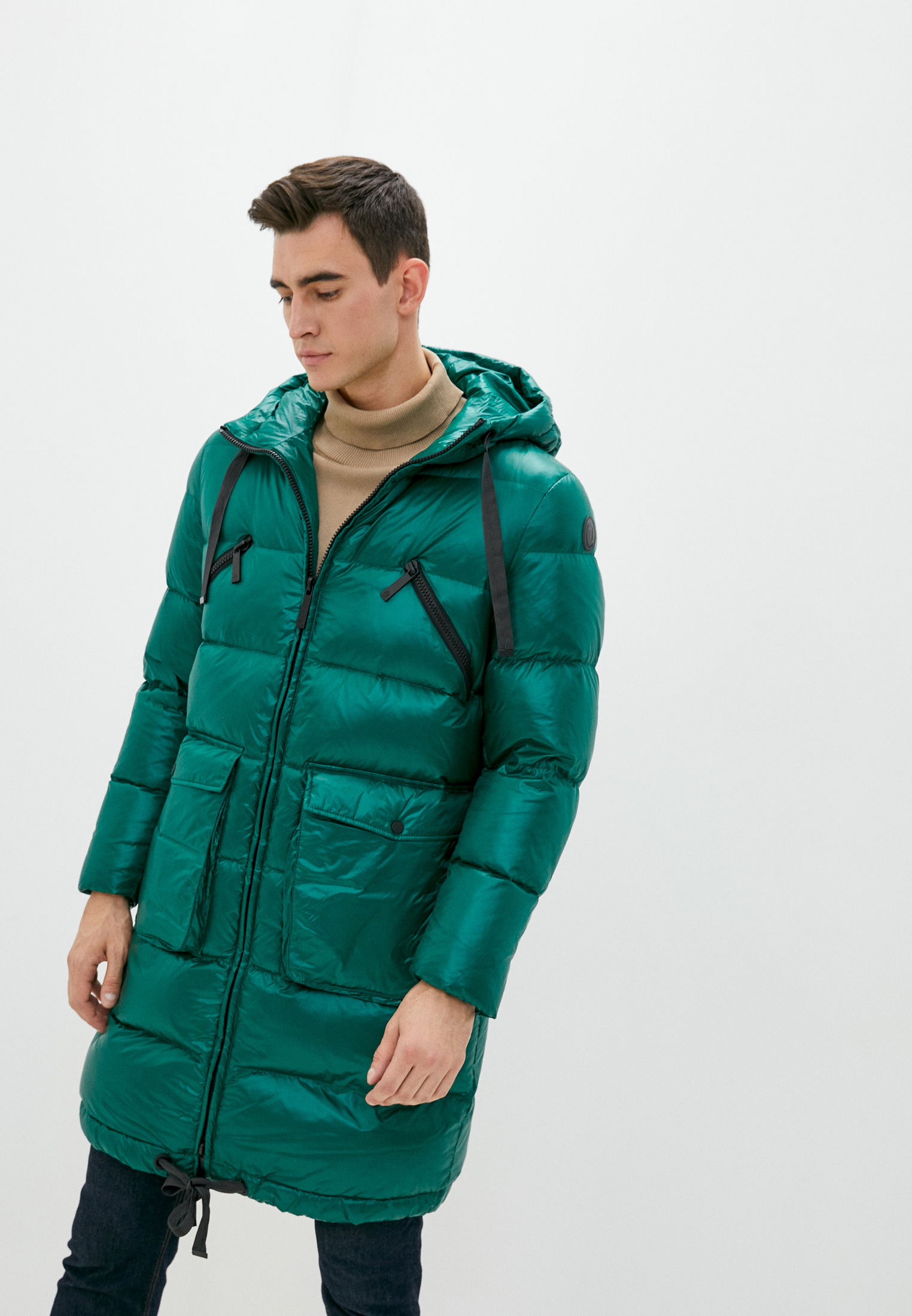 Утепленная куртка TRUSSARDI JEANS (Труссарди Джинс) 52S00463-1T004447