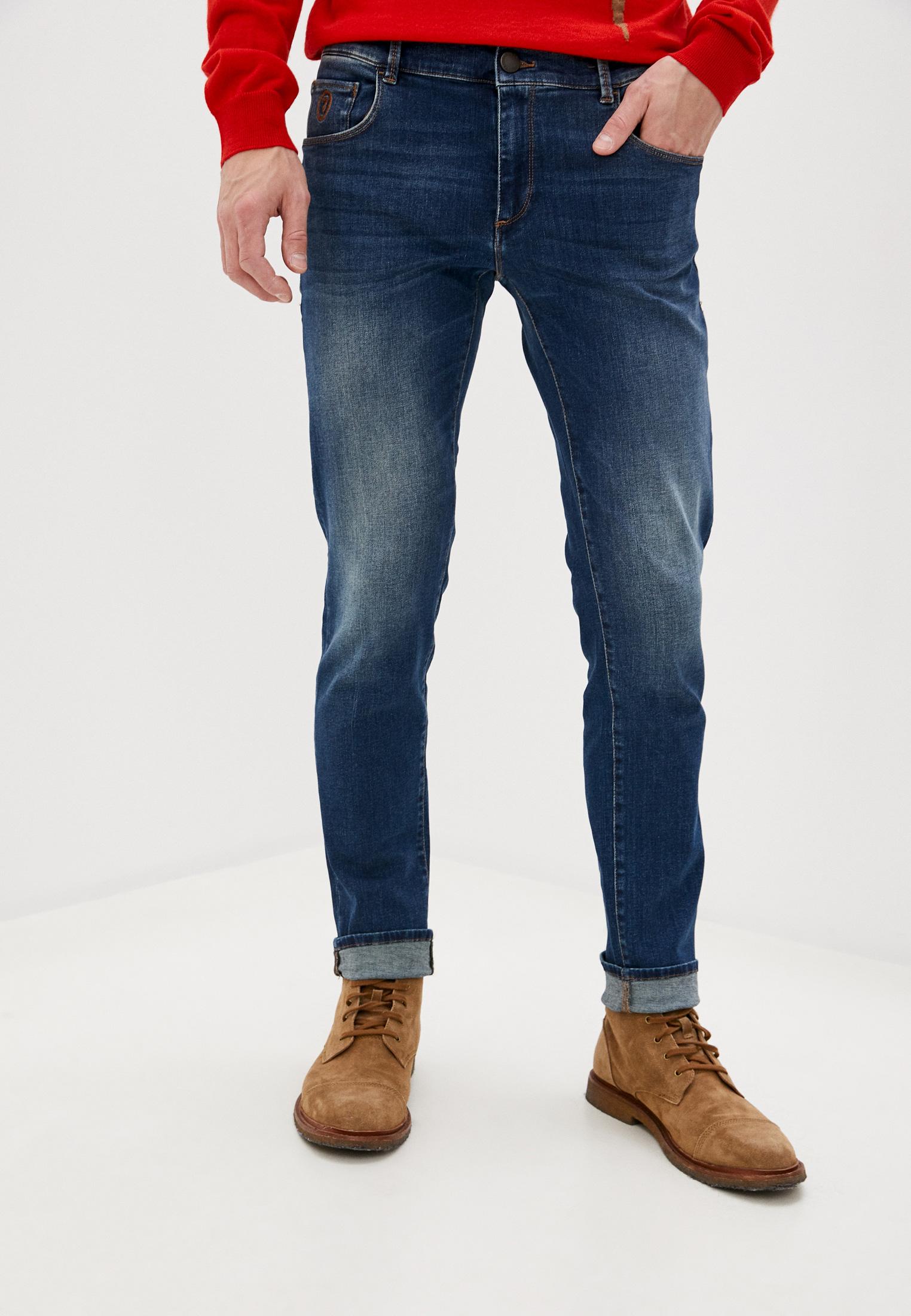 Мужские прямые джинсы TRUSSARDI JEANS (Труссарди Джинс) 52J00000-1T004391
