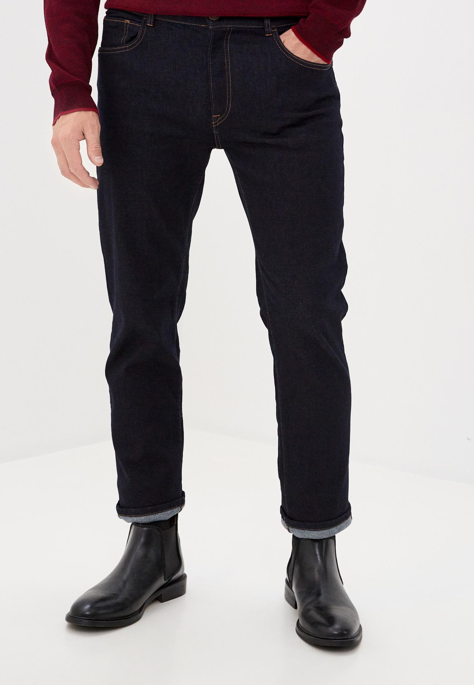 Зауженные джинсы TRUSSARDI JEANS (Труссарди Джинс) 52J00018-1T004391