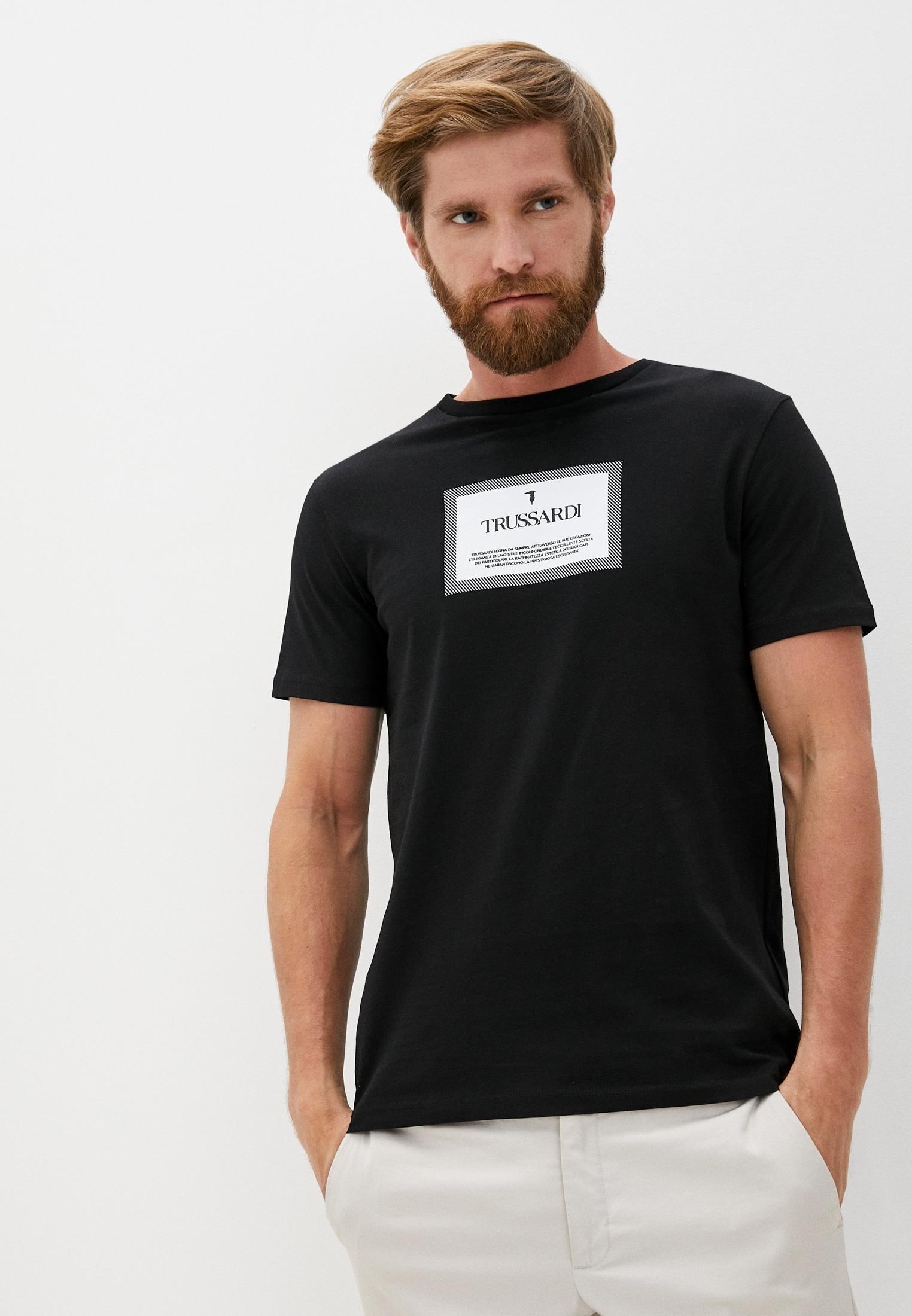Мужская футболка TRUSSARDI JEANS (Труссарди Джинс) 52T00380-1T003076