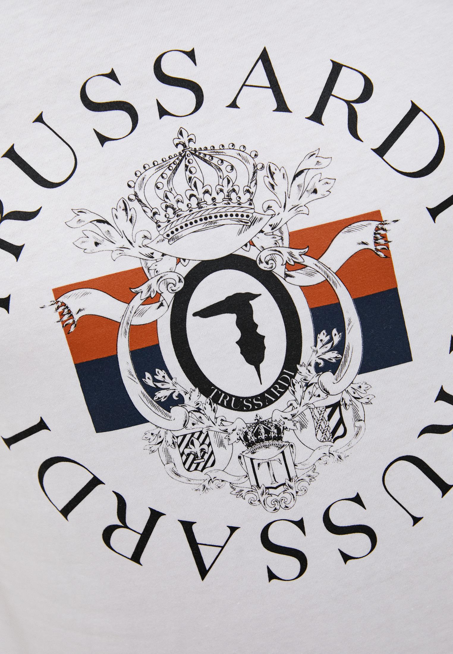Футболка TRUSSARDI JEANS (Труссарди Джинс) 52T00388-1T003076: изображение 5