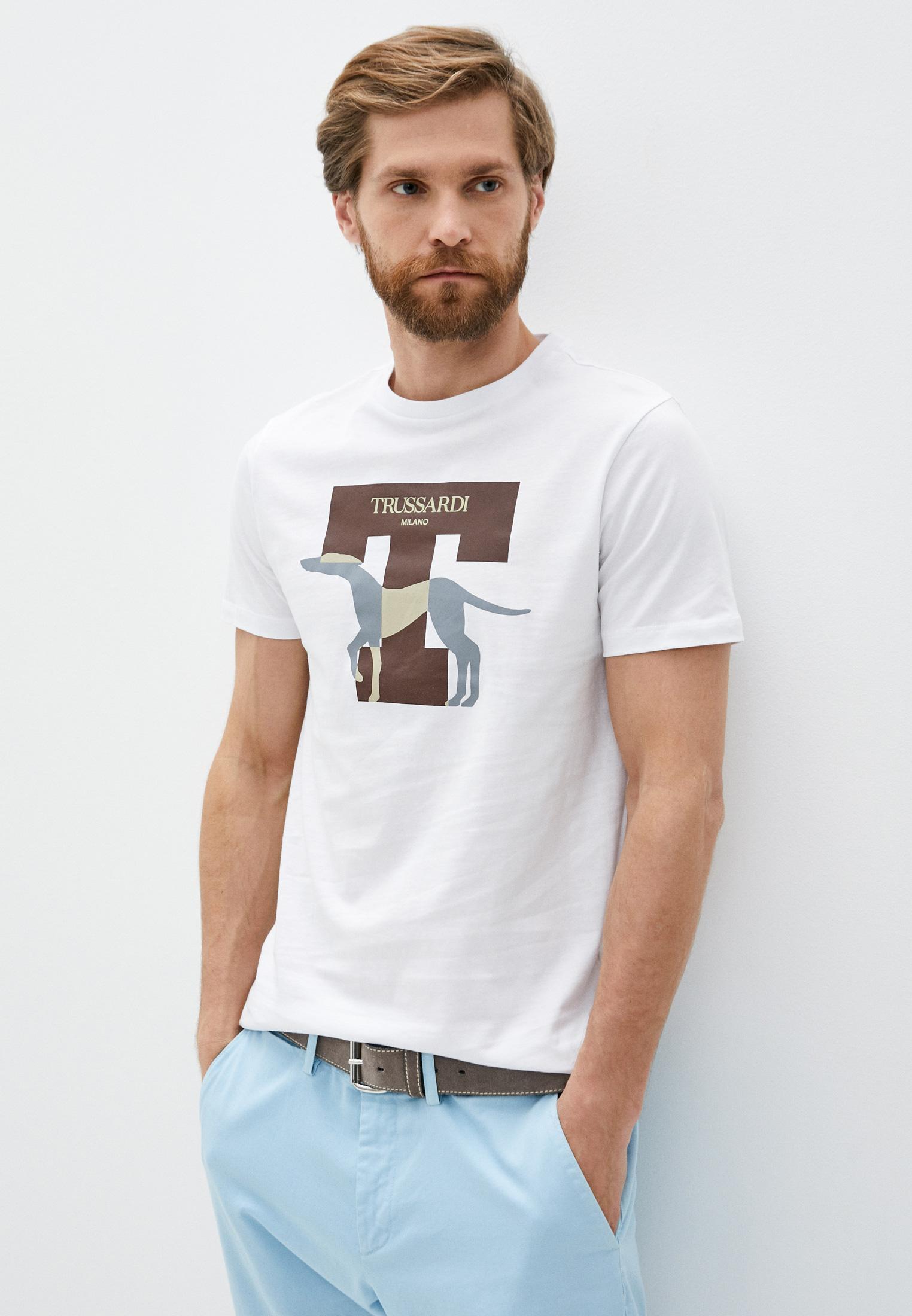 Мужская футболка Trussardi (Труссарди) 52T00432-1T003076