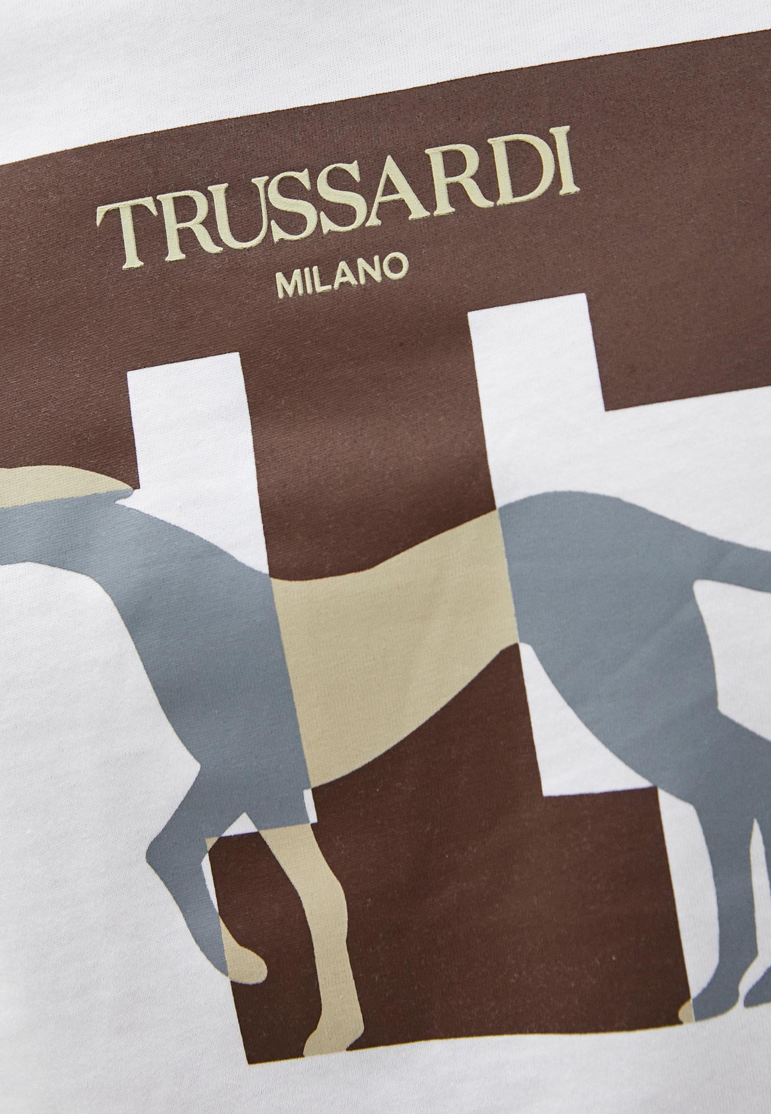 Футболка TRUSSARDI JEANS (Труссарди Джинс) 52T00432-1T003076: изображение 5