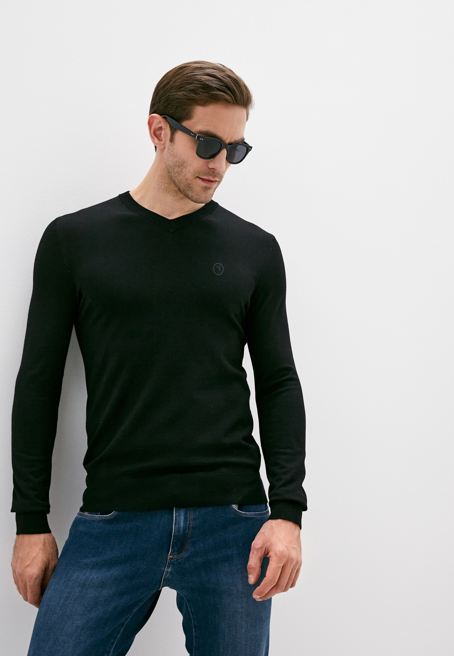 Пуловер Trussardi (Труссарди) 52M00420-0F000542