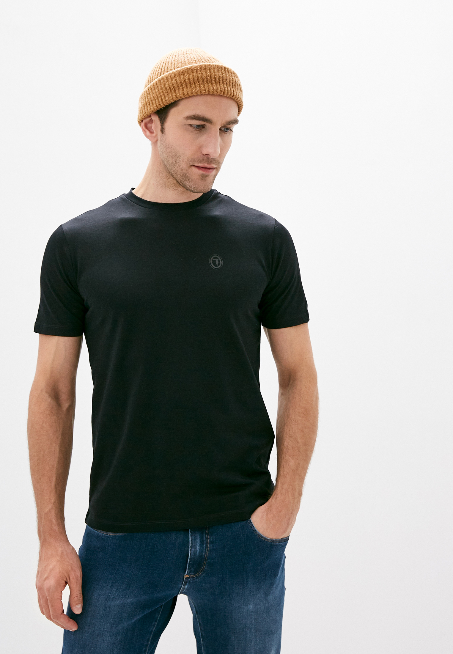 Мужская футболка TRUSSARDI JEANS (Труссарди Джинс) 52T00391-1T003602