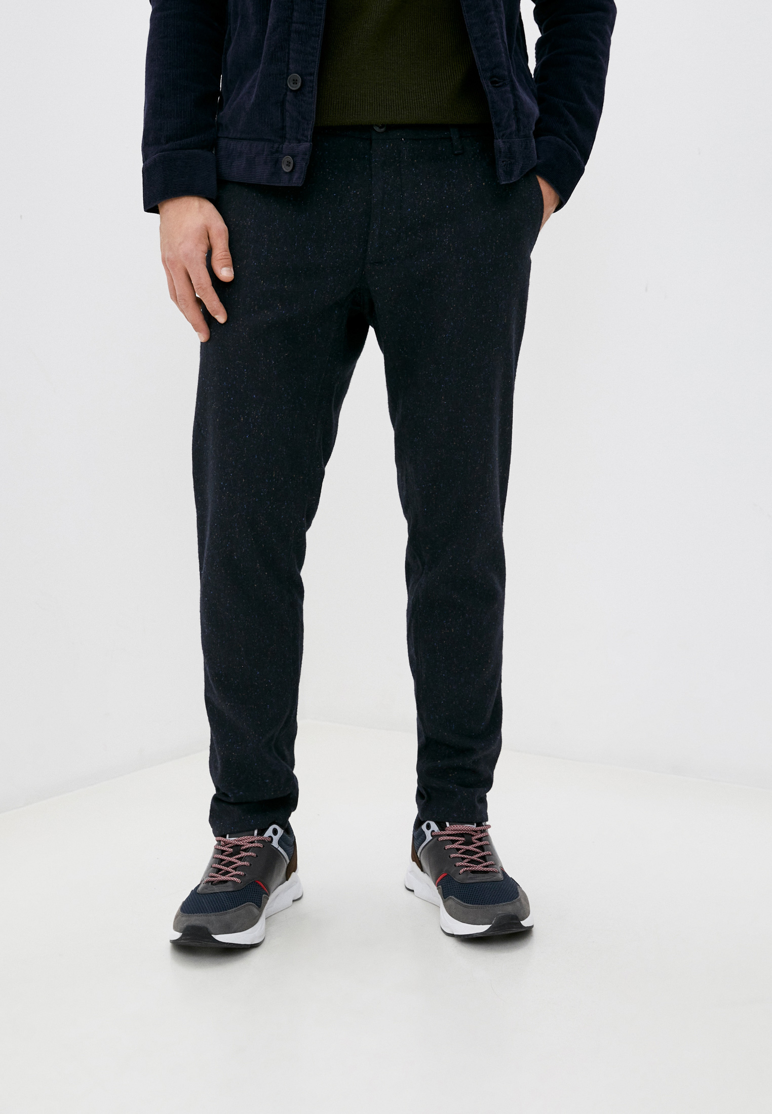 Мужские повседневные брюки TRUSSARDI JEANS (Труссарди Джинс) 52P00061-1T001455-H-001