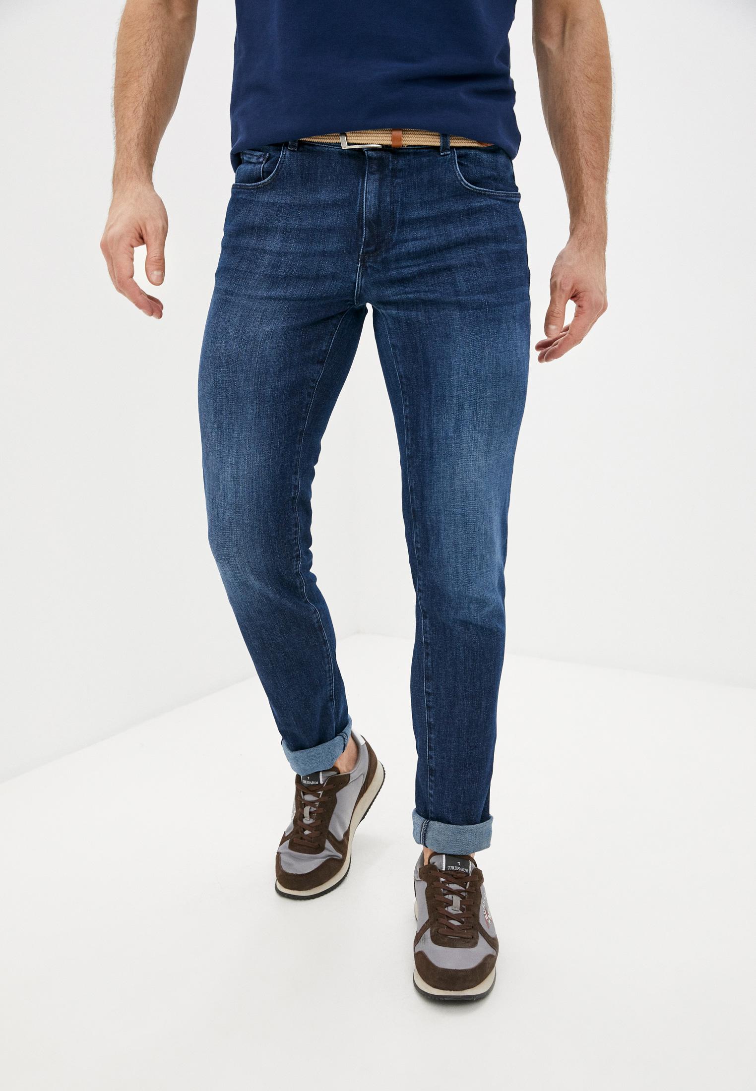Мужские прямые джинсы Trussardi (Труссарди) 52J00000-1T005108