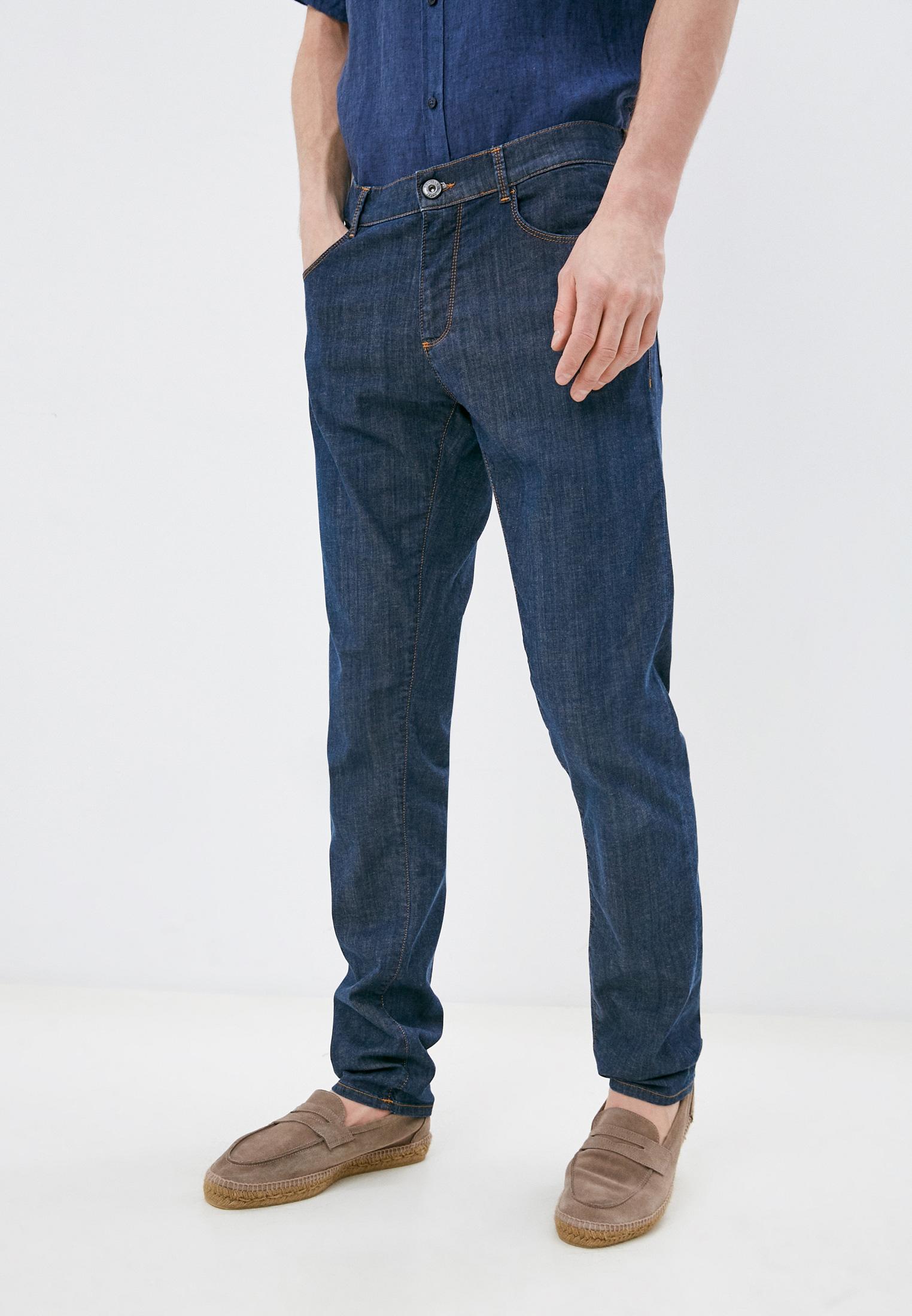 Мужские прямые джинсы Trussardi (Труссарди) 52J00000-1Y000149