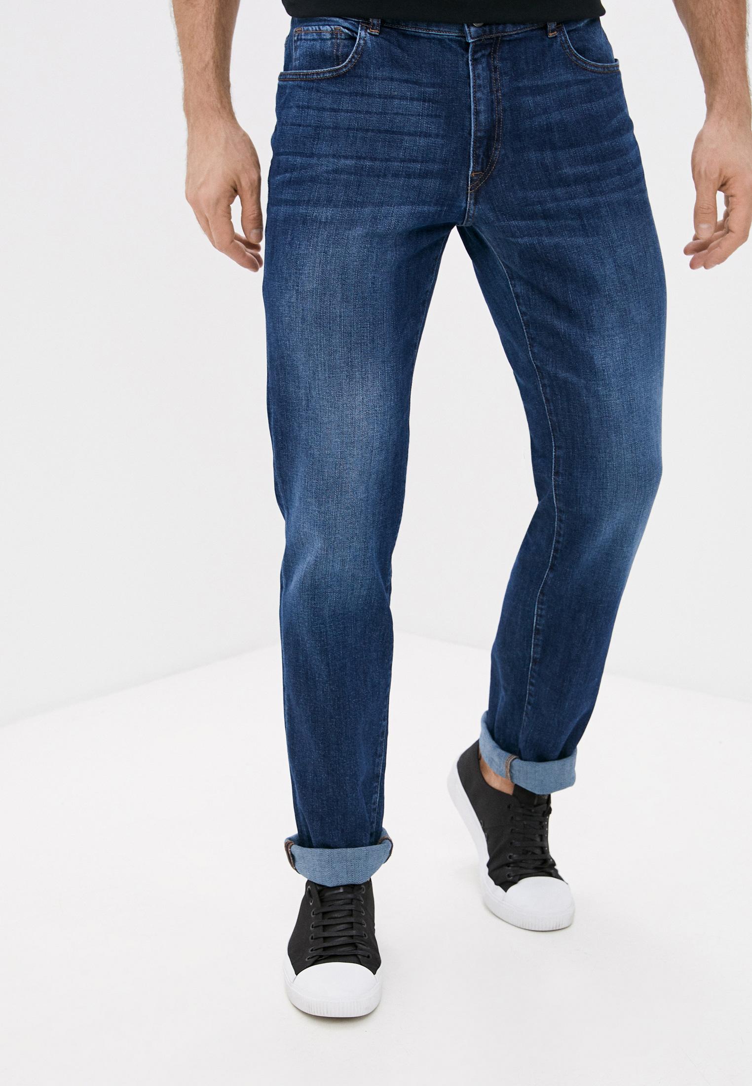 Мужские прямые джинсы Trussardi (Труссарди) 52J00001-1T005108