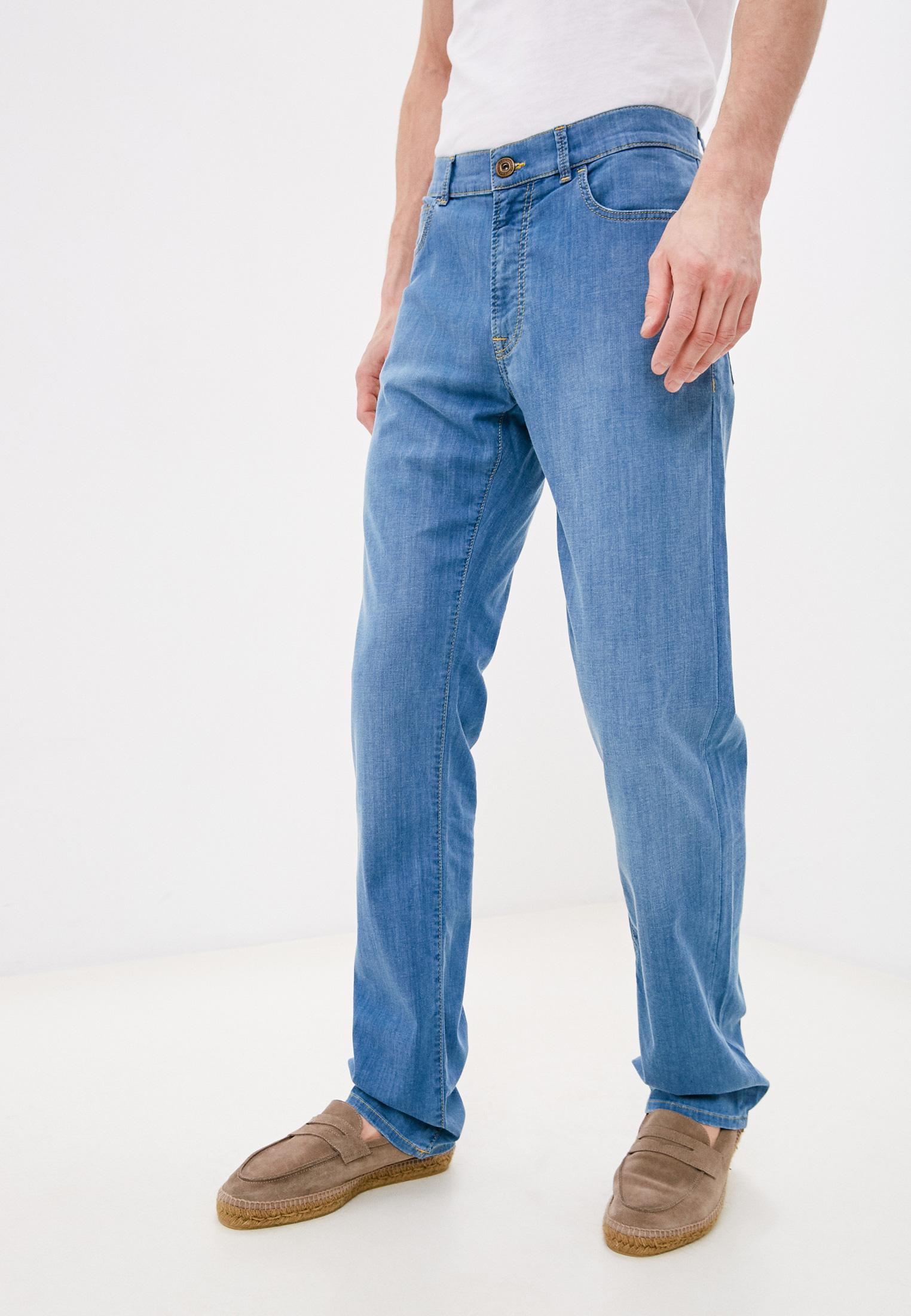 Мужские прямые джинсы TRUSSARDI JEANS (Труссарди Джинс) 52J00001-1Y000149