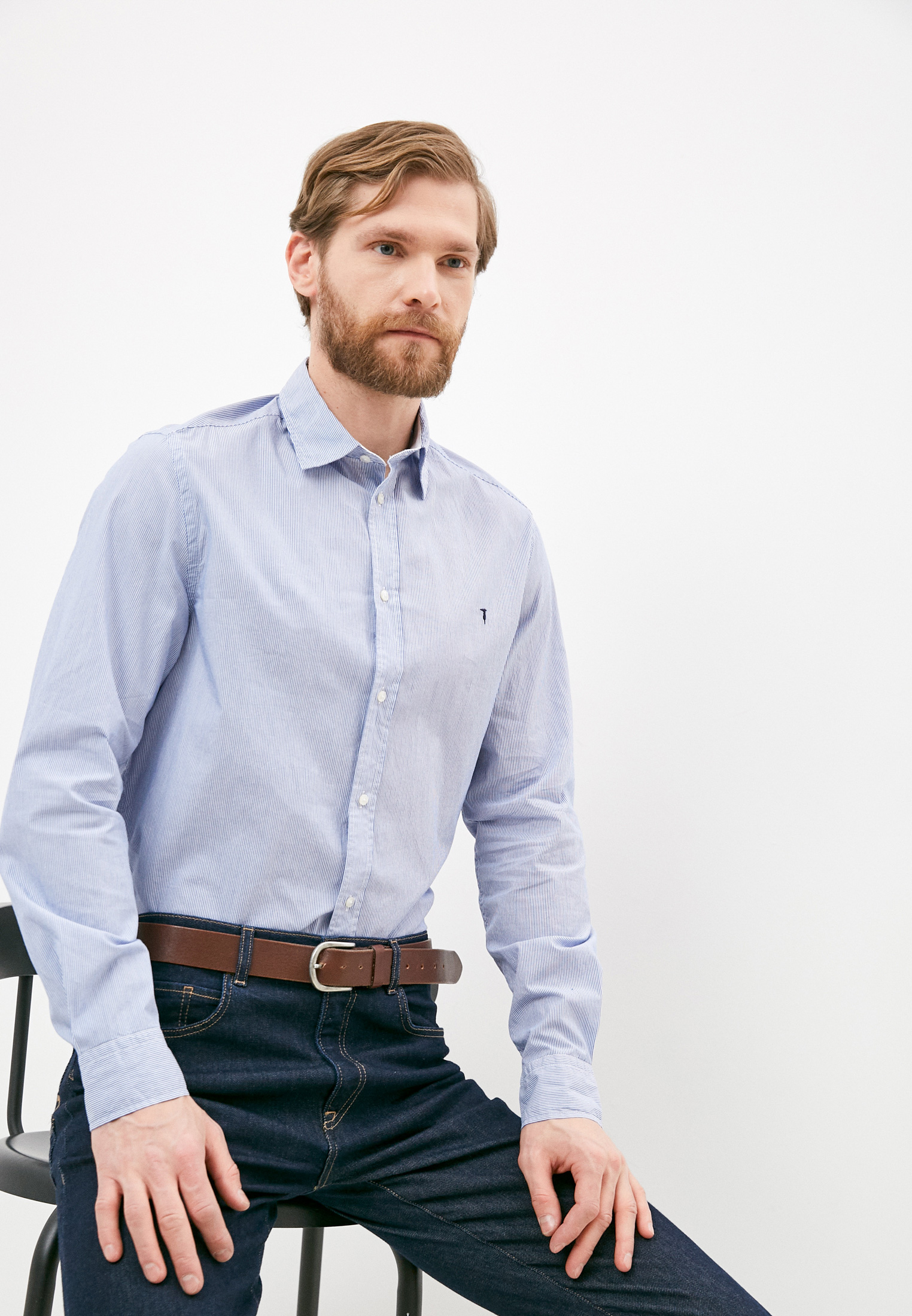 Рубашка с длинным рукавом Trussardi (Труссарди) 52C00210-1T003584