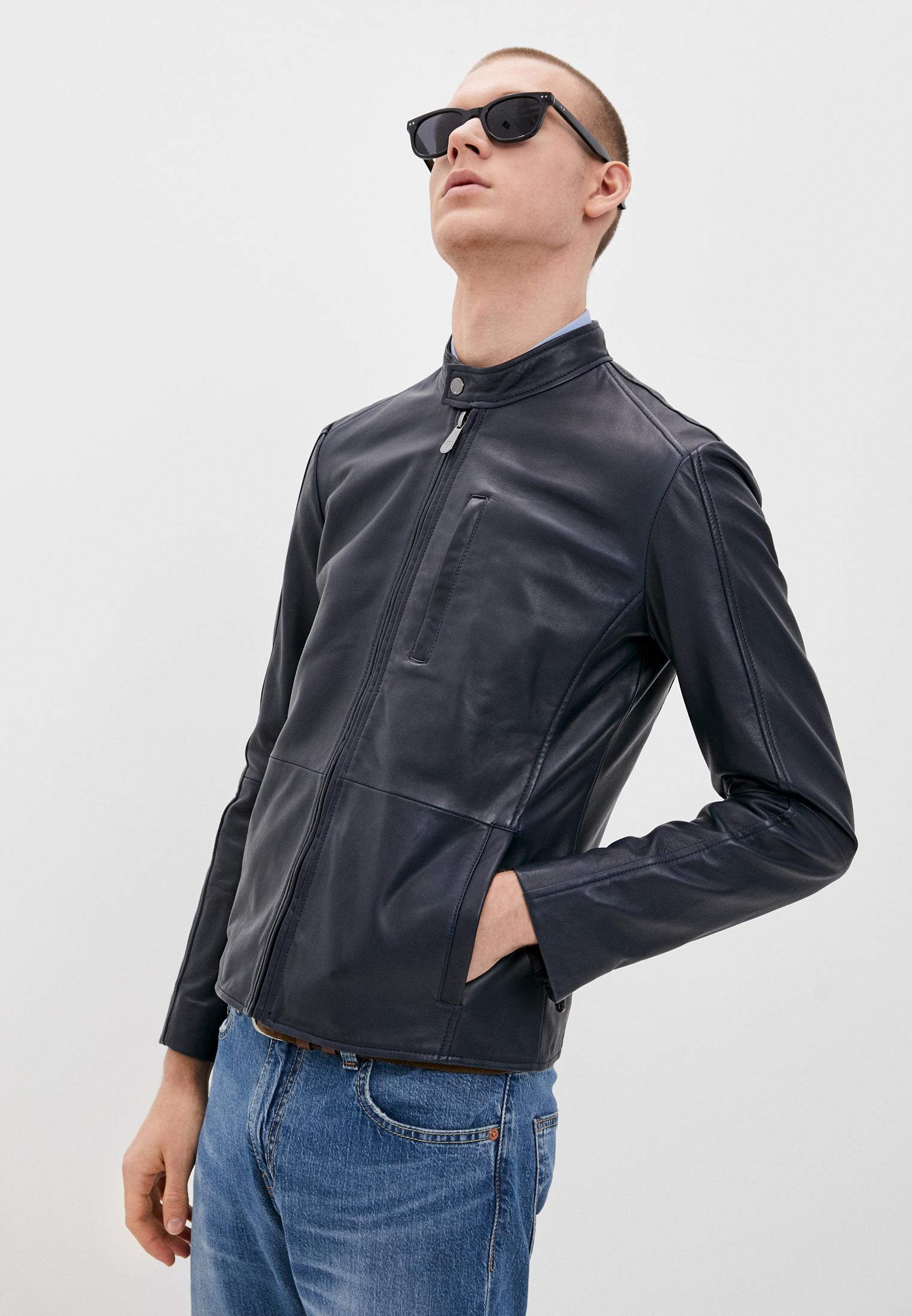 Кожаная куртка Trussardi (Труссарди) 52S00590-2P000079