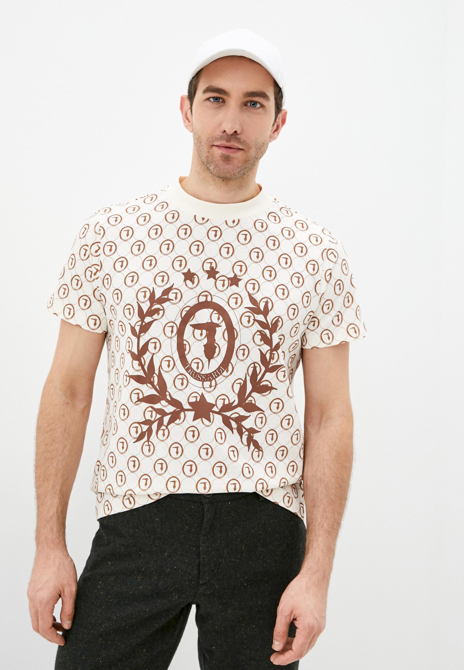 Мужская футболка Trussardi (Труссарди) 52T00440-1T005227