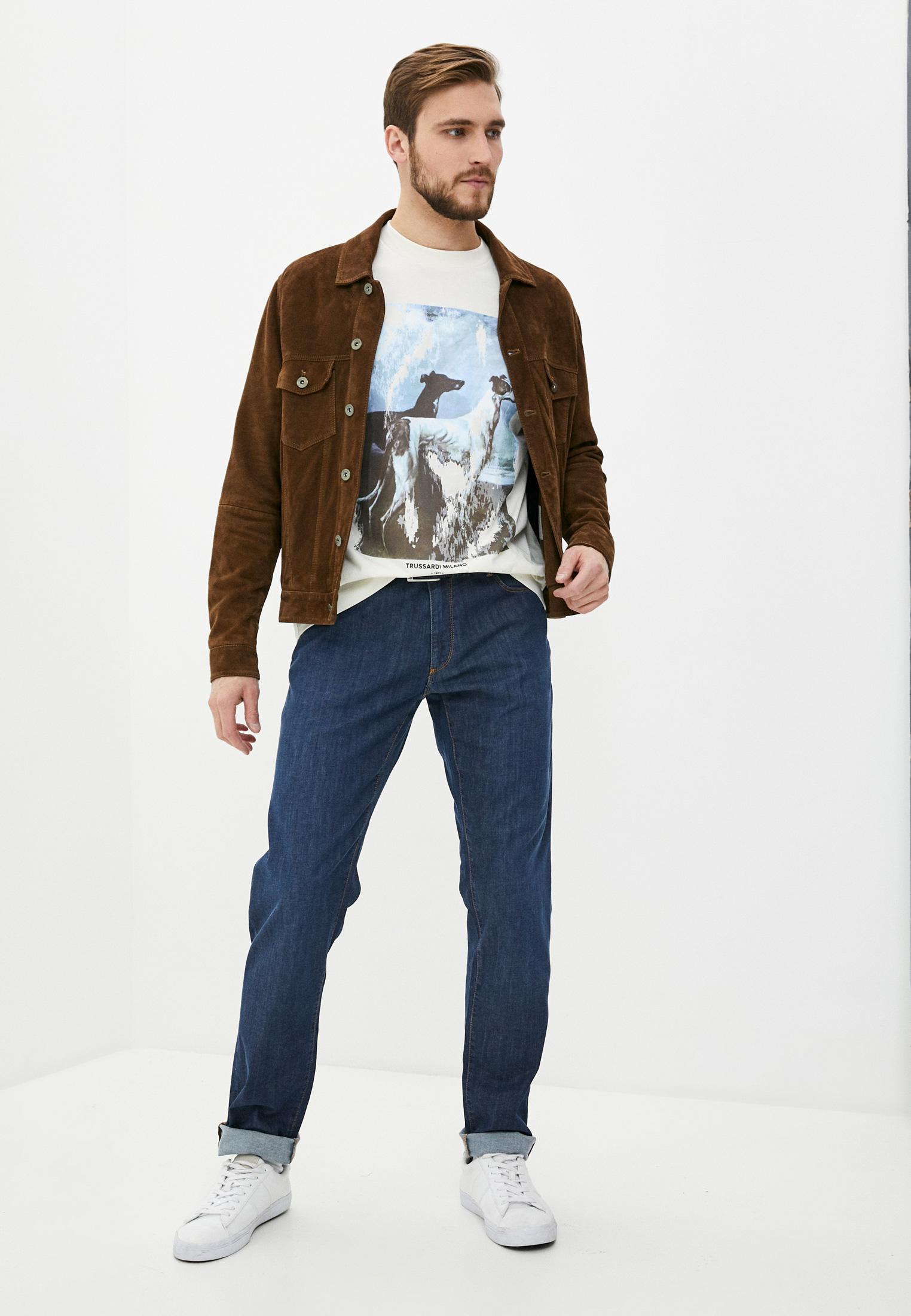 Мужская футболка Trussardi (Труссарди) 52T00455-1T005053: изображение 3