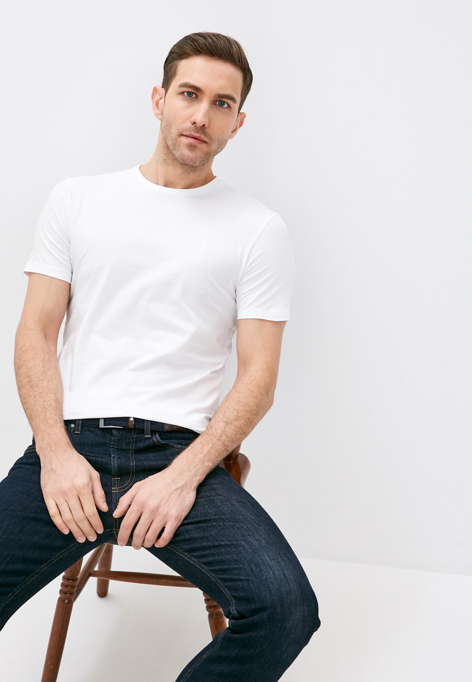 Мужская футболка Trussardi (Труссарди) 52T00499-1T003614