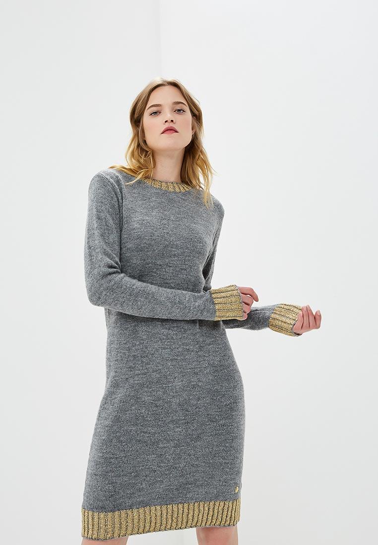 Вязаное платье TRUSSARDI JEANS (Труссарди Джинс) 56D00173
