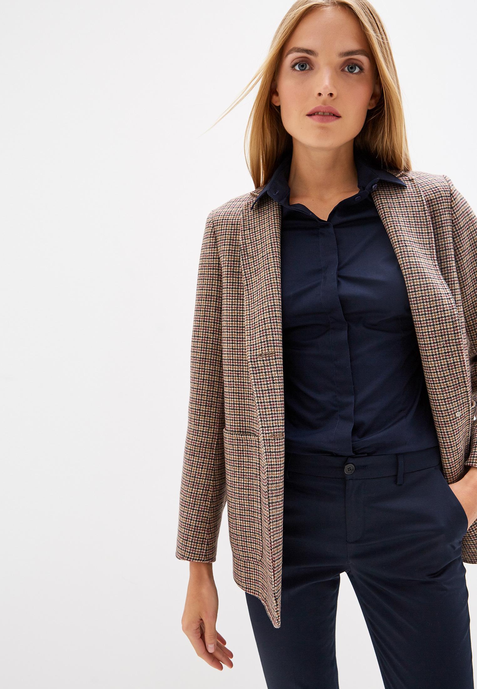 Женские рубашки с длинным рукавом TRUSSARDI JEANS (Труссарди Джинс) 56C00240