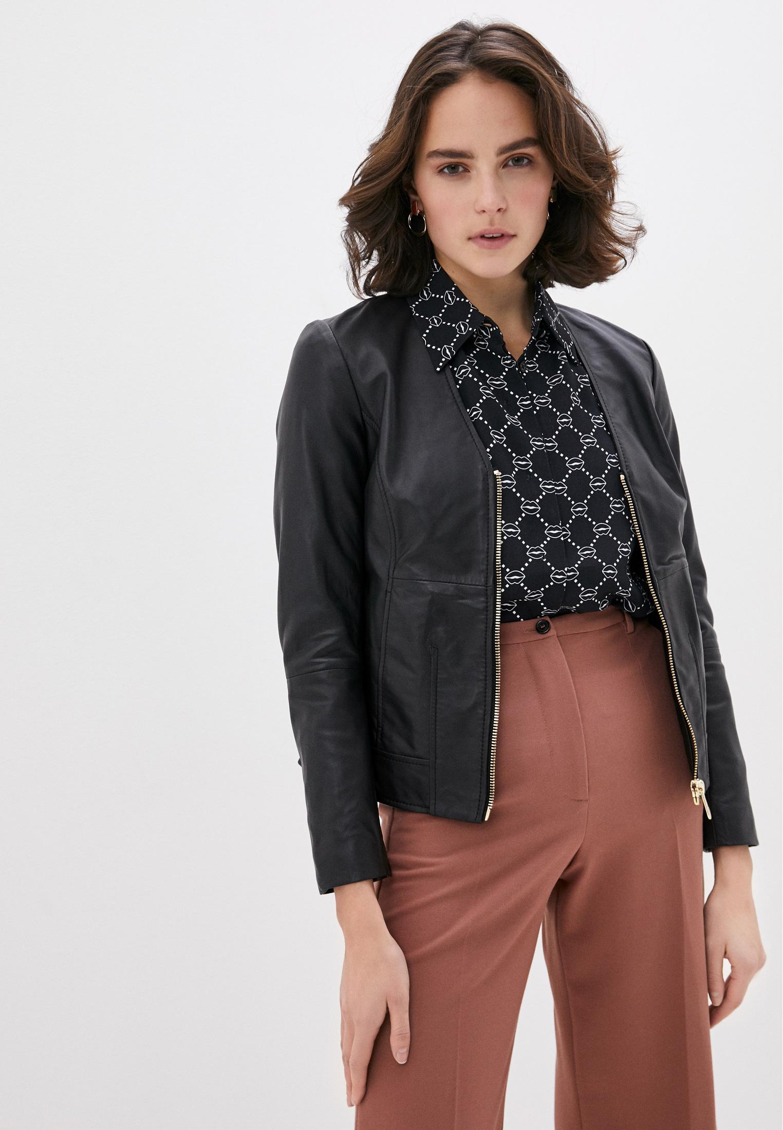 Кожаная куртка TRUSSARDI JEANS (Труссарди Джинс) 56S00447