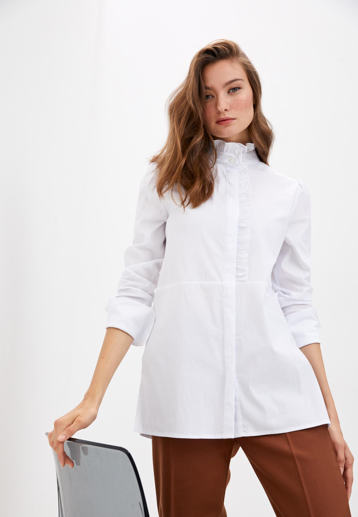 Женские рубашки с длинным рукавом TRUSSARDI JEANS (Труссарди Джинс) 56C00358-1T004279