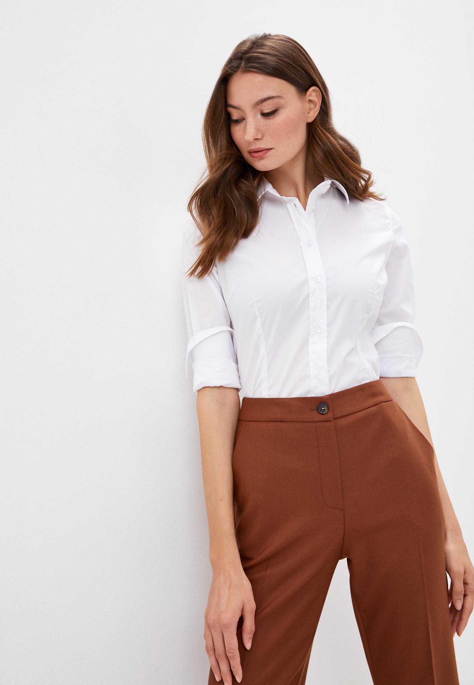 Женские рубашки с длинным рукавом TRUSSARDI JEANS (Труссарди Джинс) 56C00366-1T004673