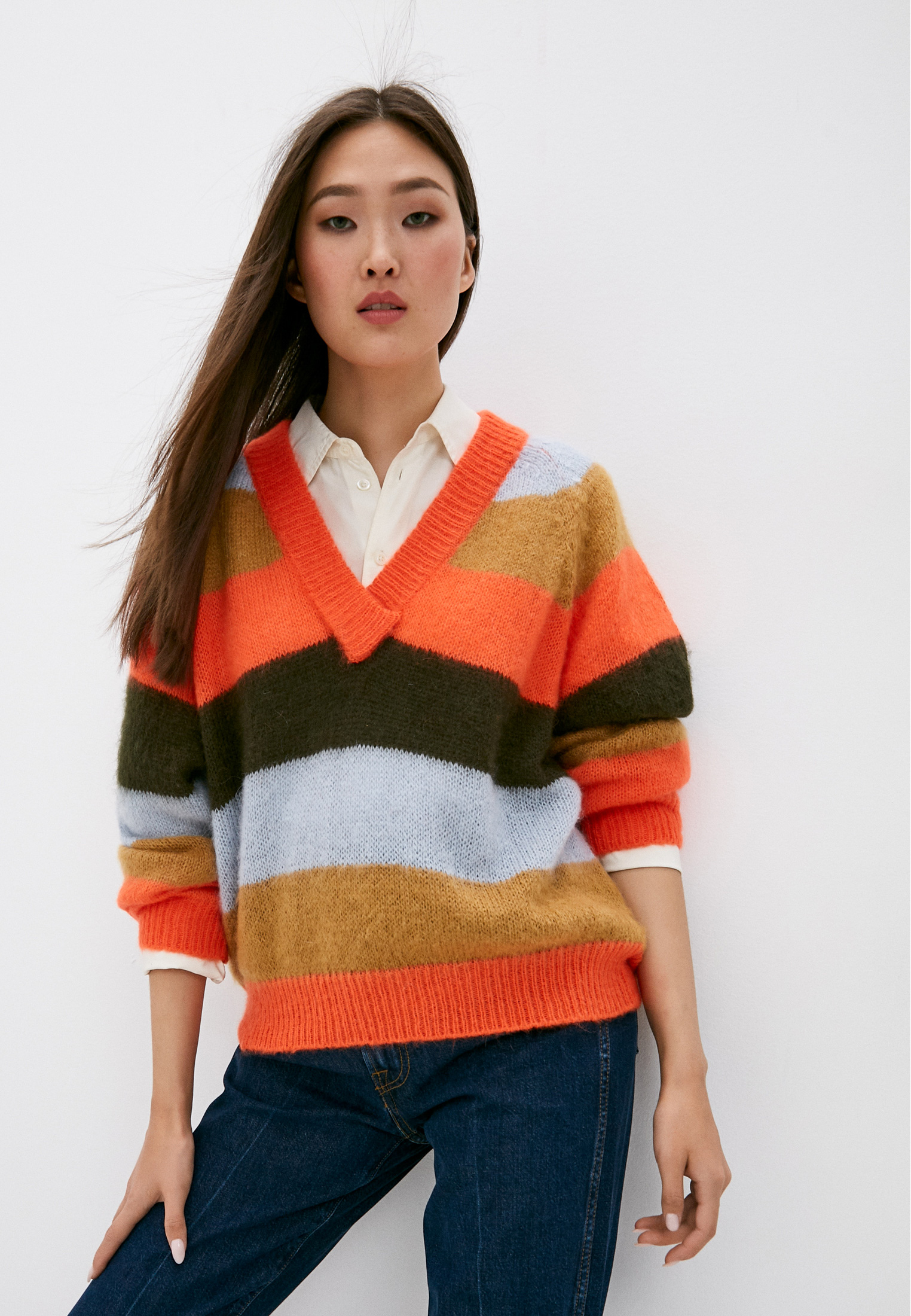 Пуловер TRUSSARDI JEANS (Труссарди Джинс) 56M00346-0F000561