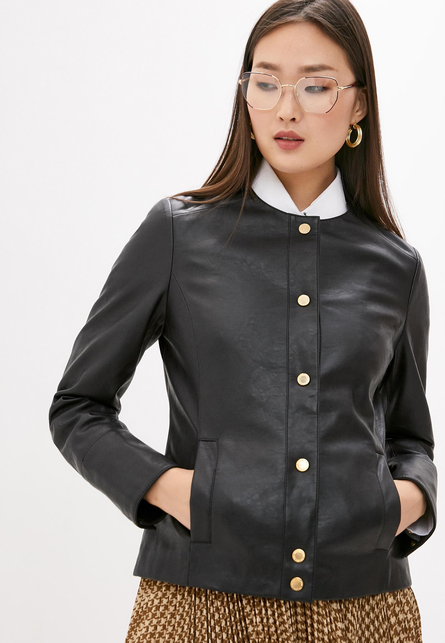 Кожаная куртка Trussardi (Труссарди) 56S00512-1T002169