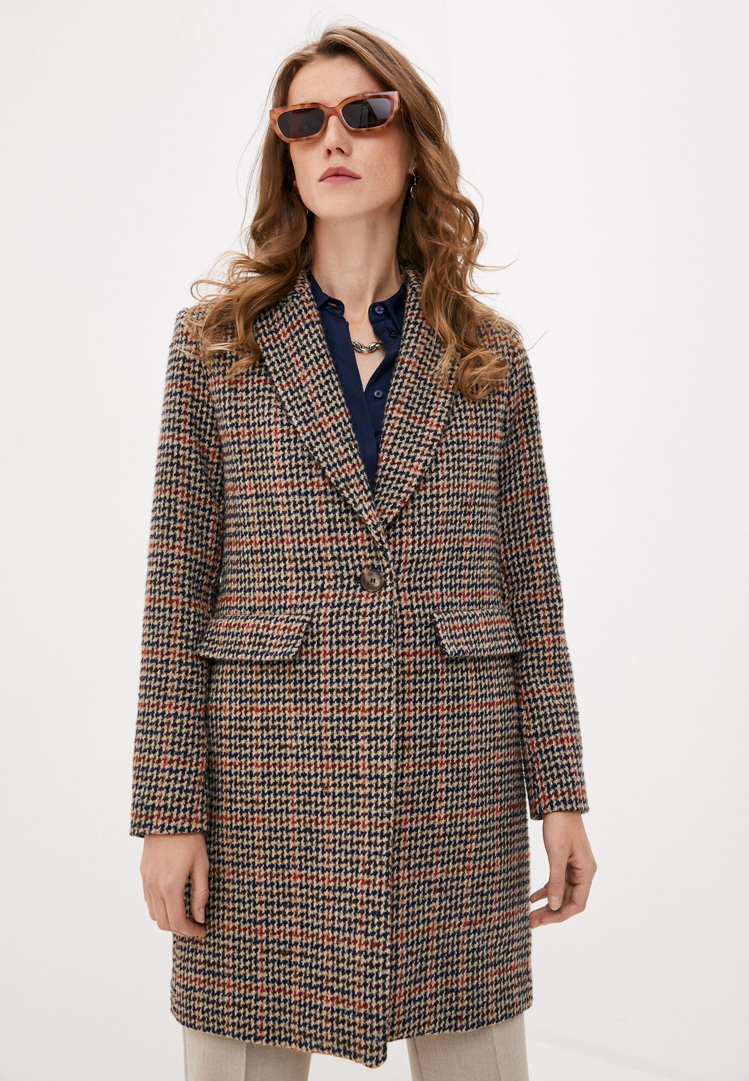 Женские пальто TRUSSARDI JEANS (Труссарди Джинс) 56S00566-1T004460