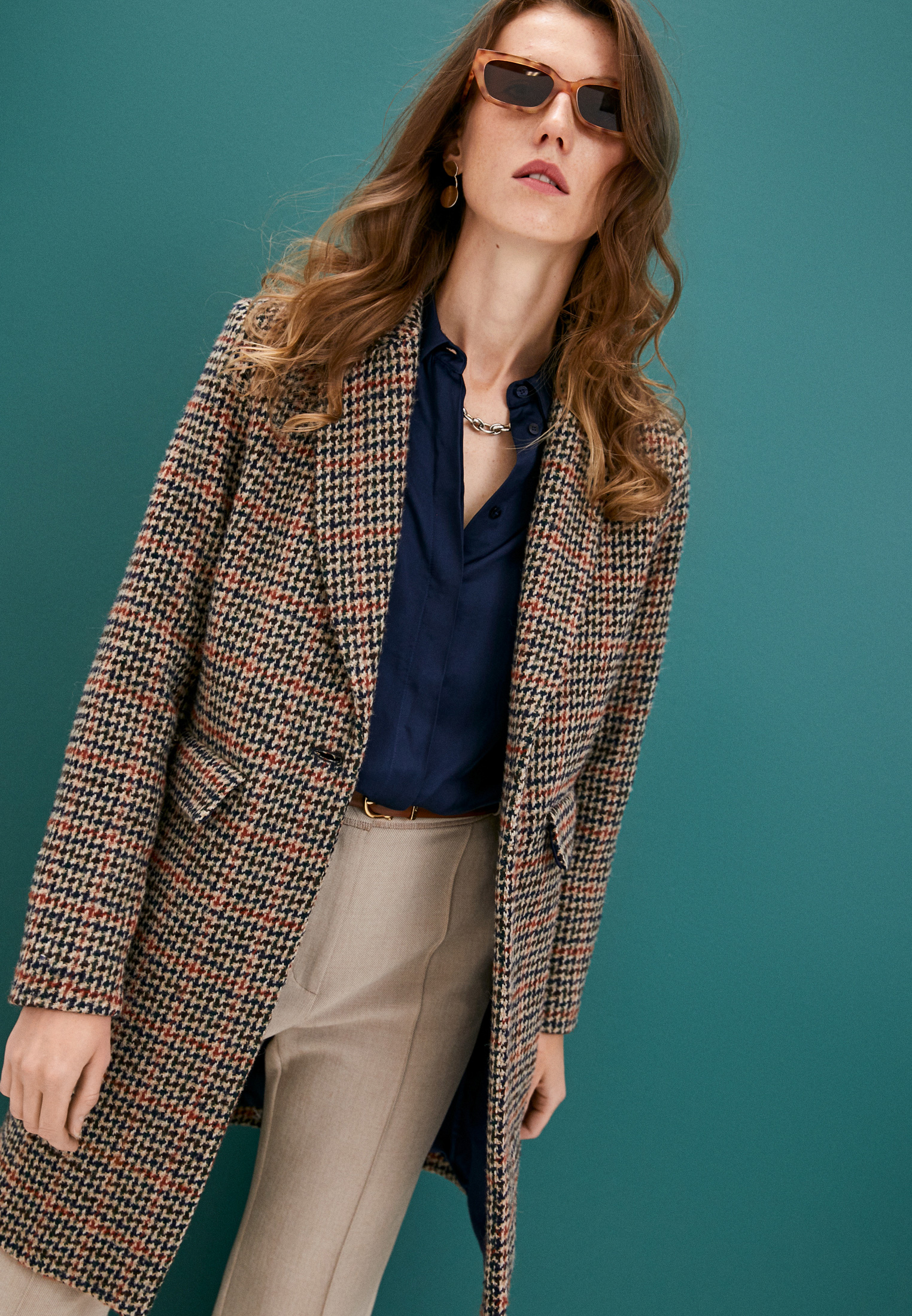 Женские пальто TRUSSARDI JEANS (Труссарди Джинс) 56S00566-1T004460: изображение 2