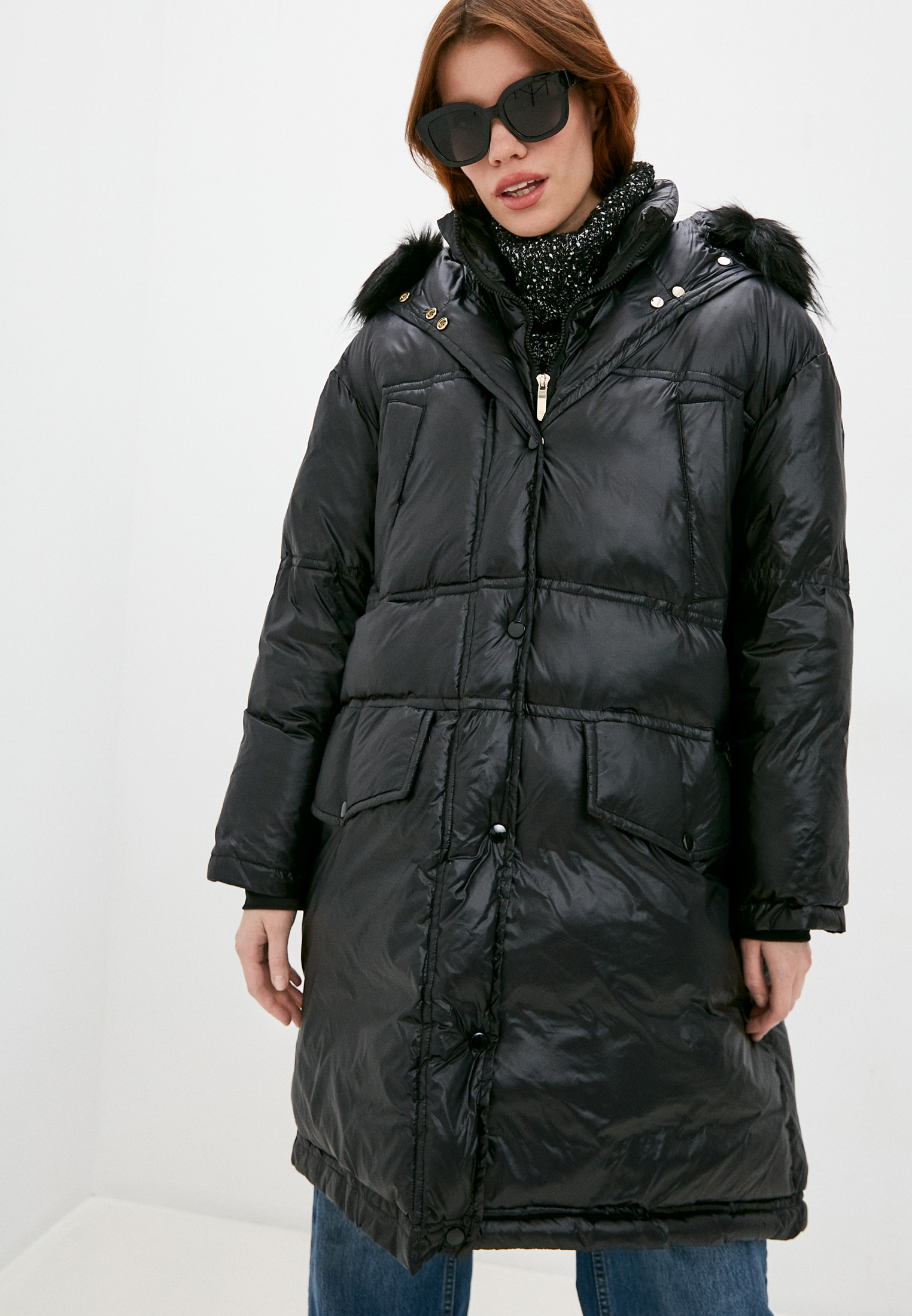 Утепленная куртка Trussardi (Труссарди) 56S00576-1T004794