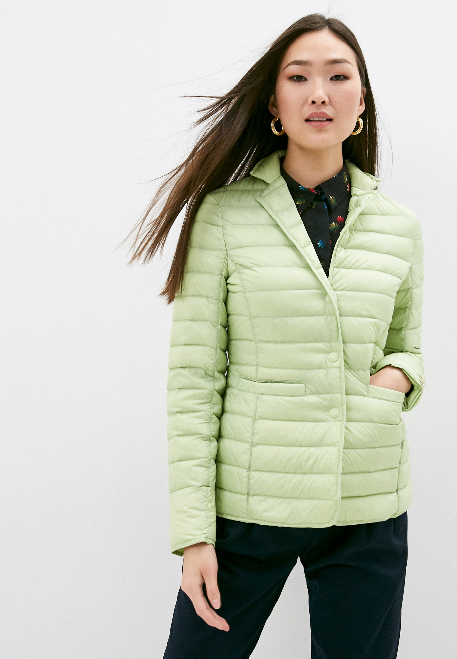 Утепленная куртка Trussardi (Труссарди) 56S00150-1Y090504