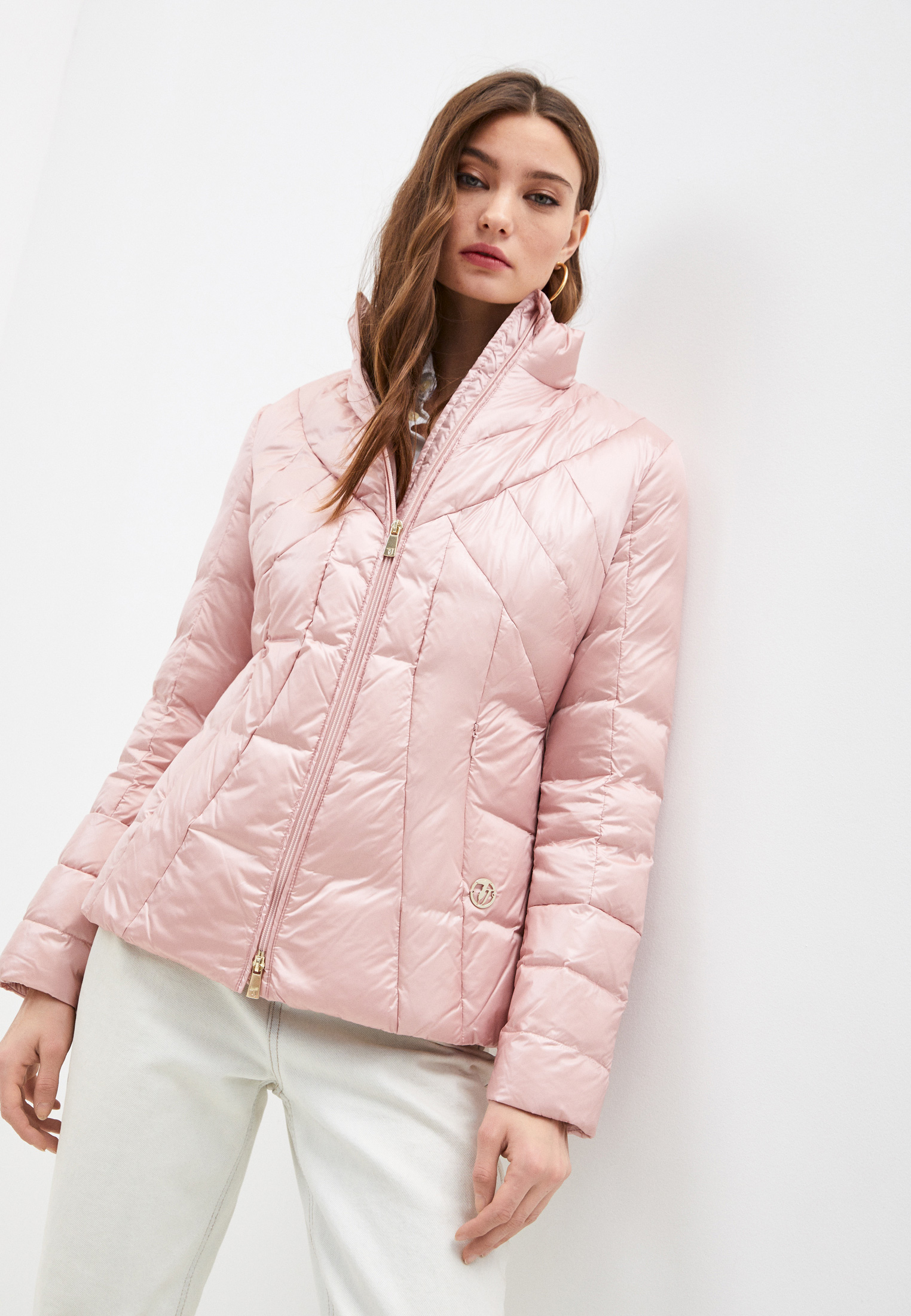 Утепленная куртка TRUSSARDI JEANS (Труссарди Джинс) 56S00200-1T001597