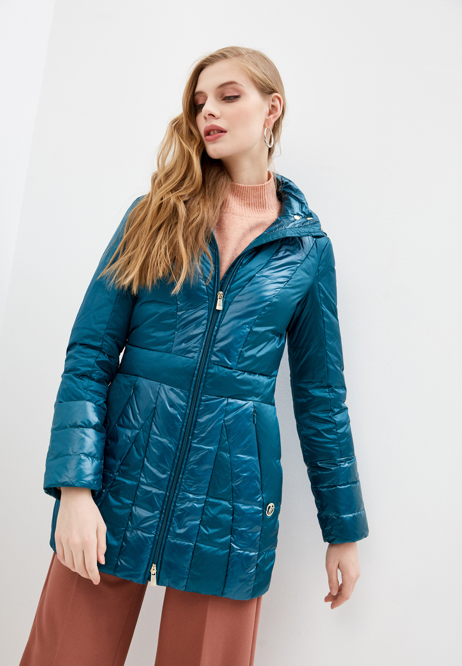 Утепленная куртка Trussardi (Труссарди) 56S00201-1T001597