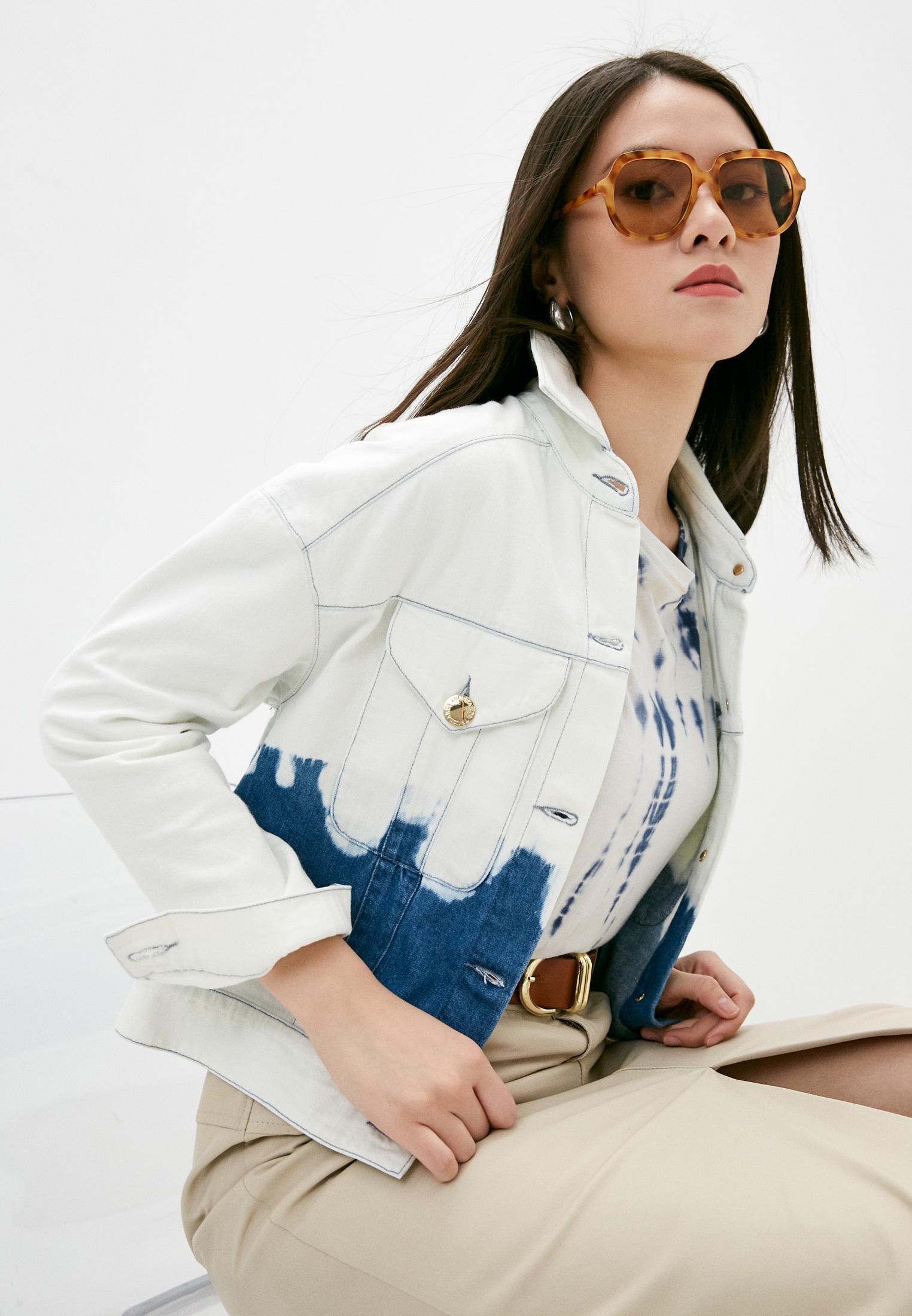 Джинсовая куртка Trussardi (Труссарди) 56S00632-1T005077