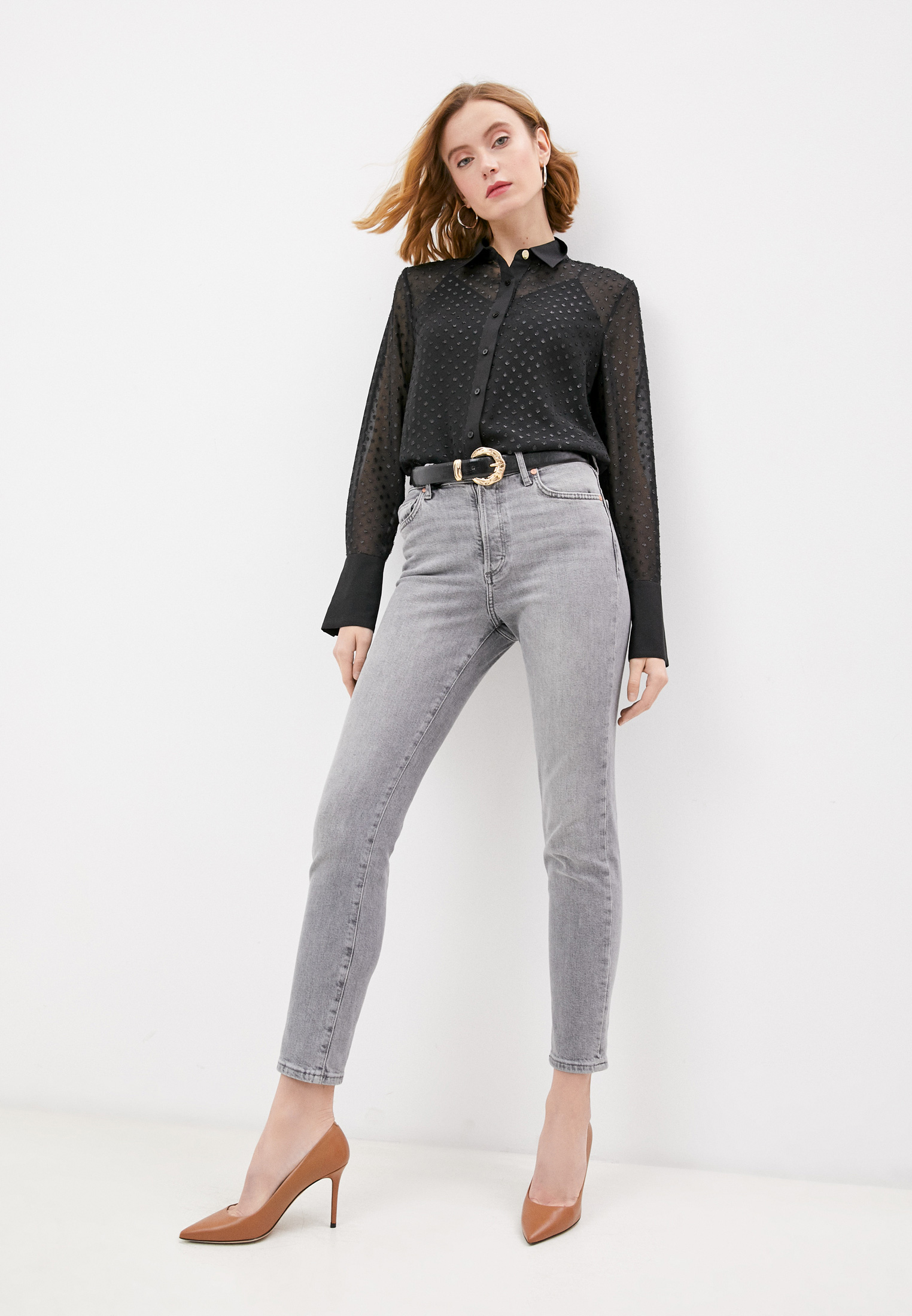 Блуза Trussardi (Труссарди) 56C00402-1T004930: изображение 3