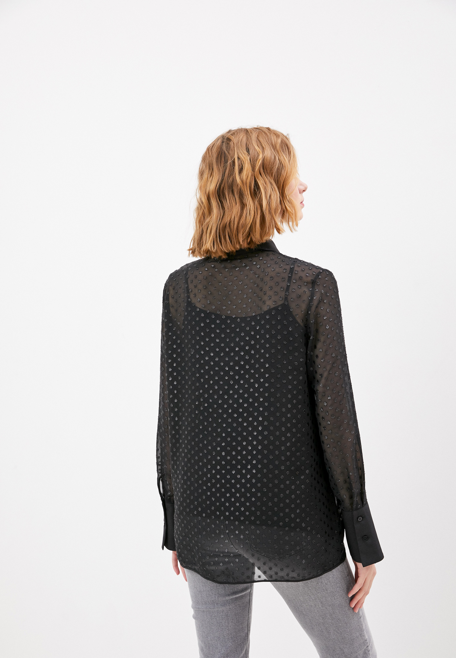 Блуза Trussardi (Труссарди) 56C00402-1T004930: изображение 4