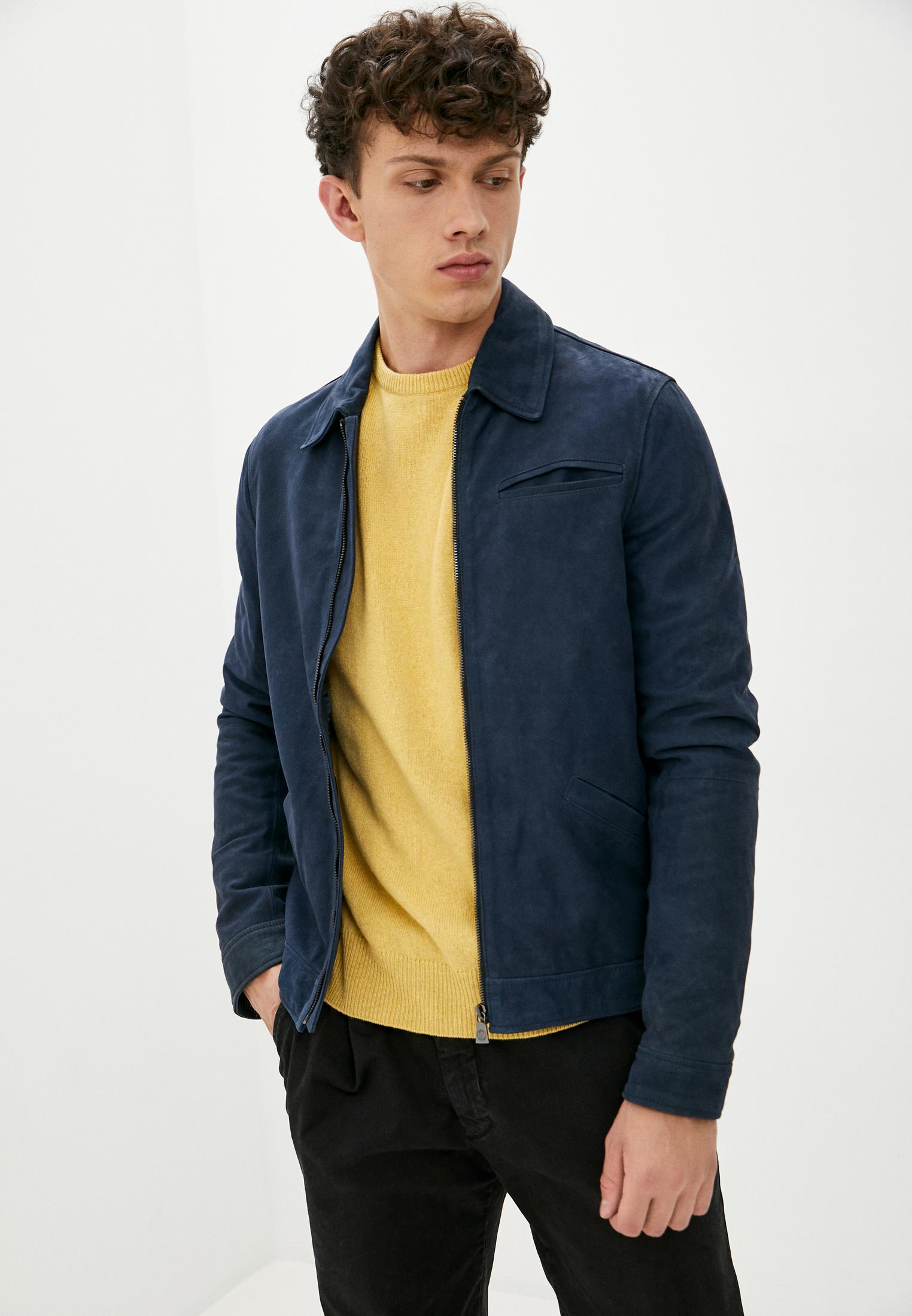 Кожаная куртка Trussardi Collection U40TRC7003