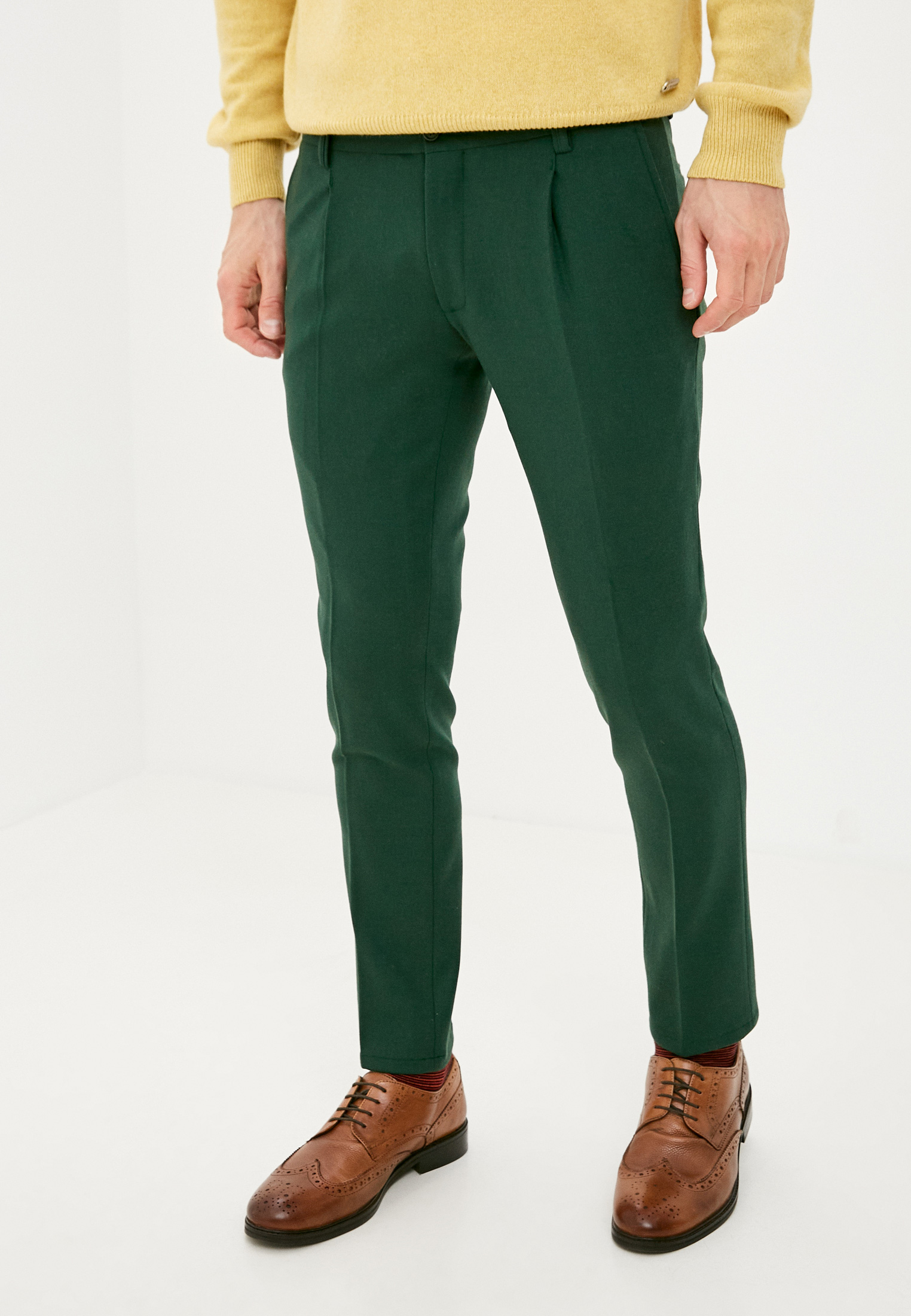 Мужские прямые брюки Trussardi Collection U10TRC0012