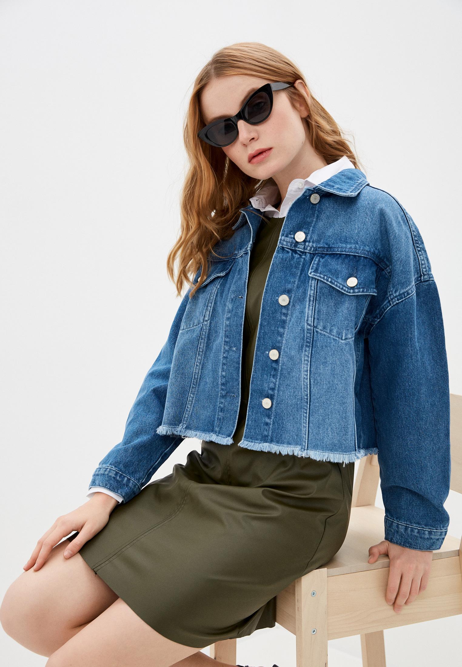 Джинсовая куртка Trendyol TWOAW20CE0033