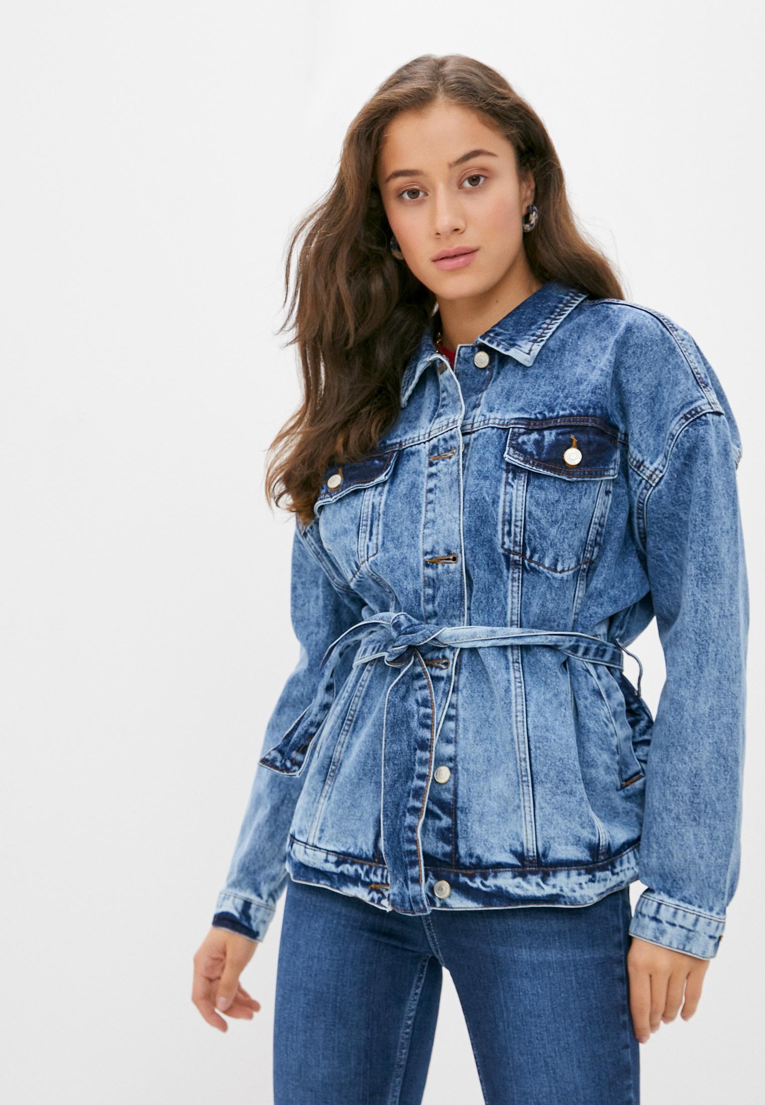 Джинсовая куртка Trendyol TWOAW21CE0010