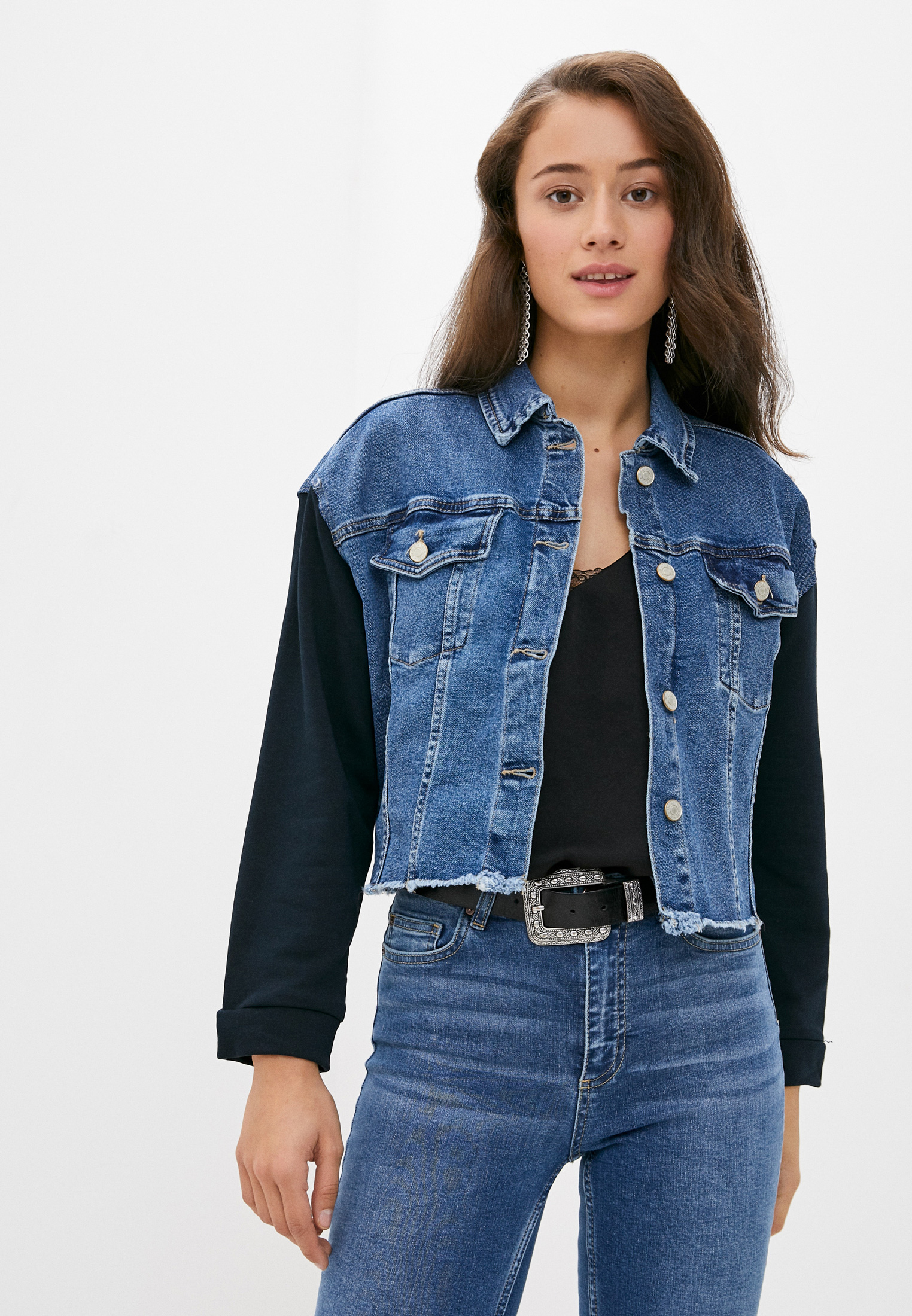 Джинсовая куртка Trendyol TWOAW21CE0011