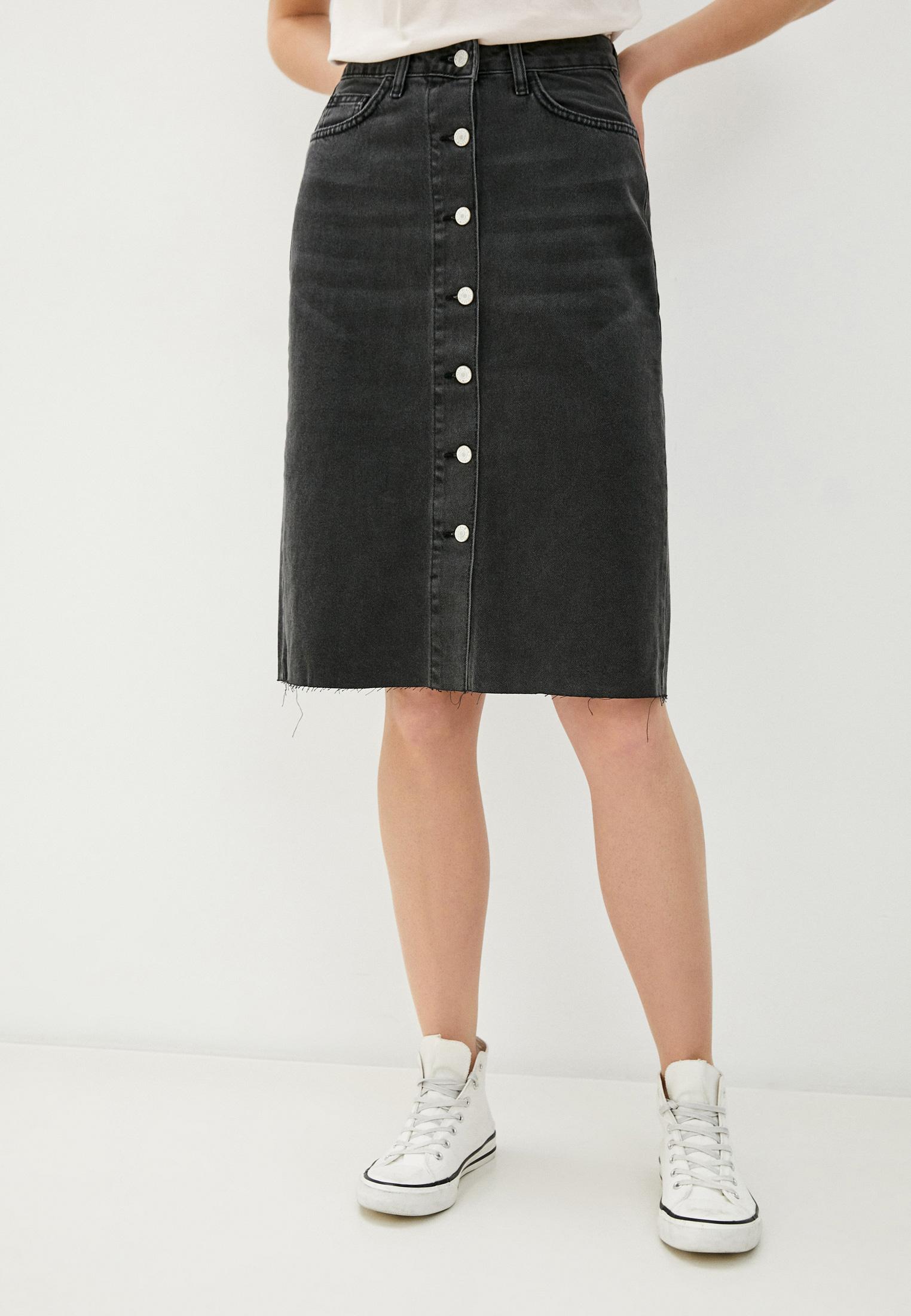 Джинсовая юбка Trendyol TWOAW21ET0033