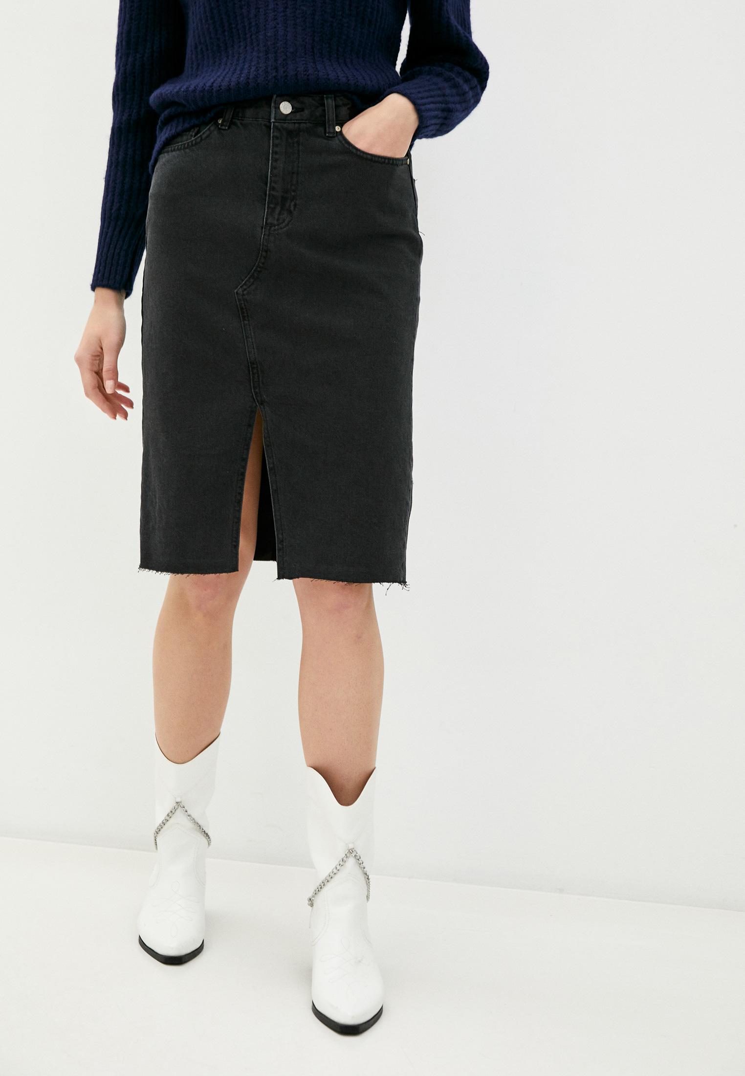 Джинсовая юбка Trendyol TWOAW21ET0096